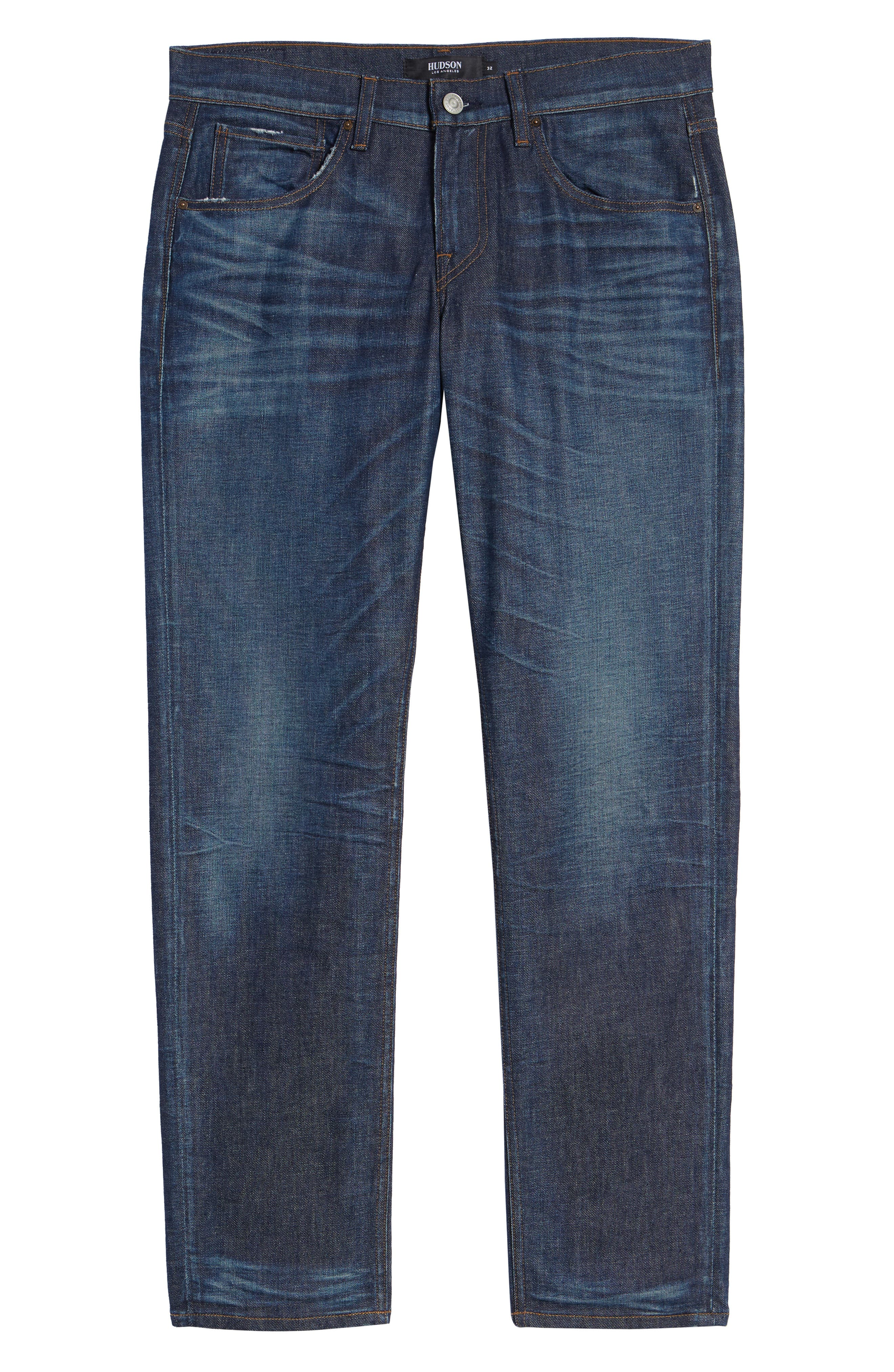 Byron Slim Straight Fit Jeans,                             Alternate thumbnail 6, color,                             ALBANY