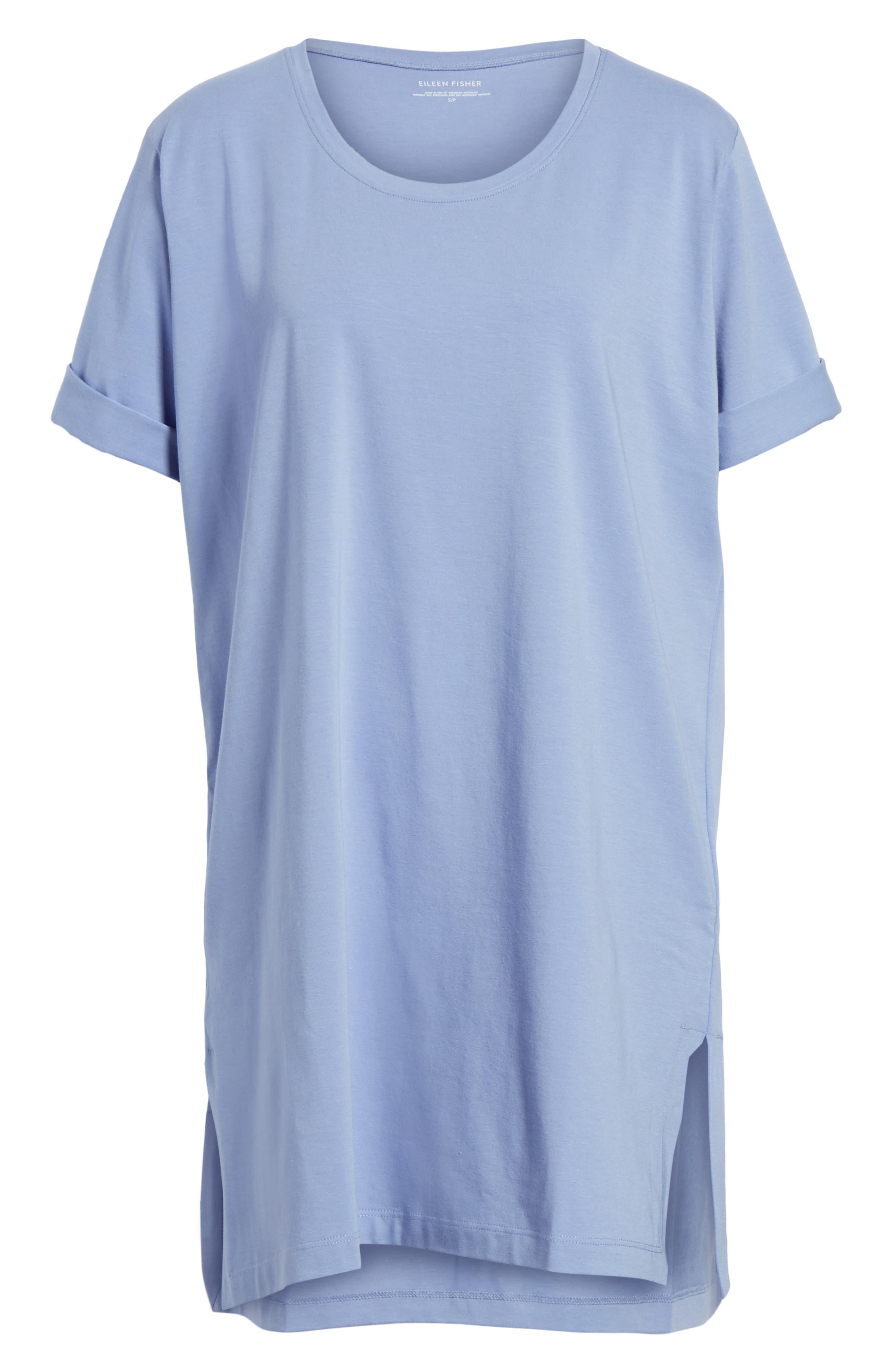 Stretch Organic Cotton Jersey Tunic,                             Alternate thumbnail 33, color,