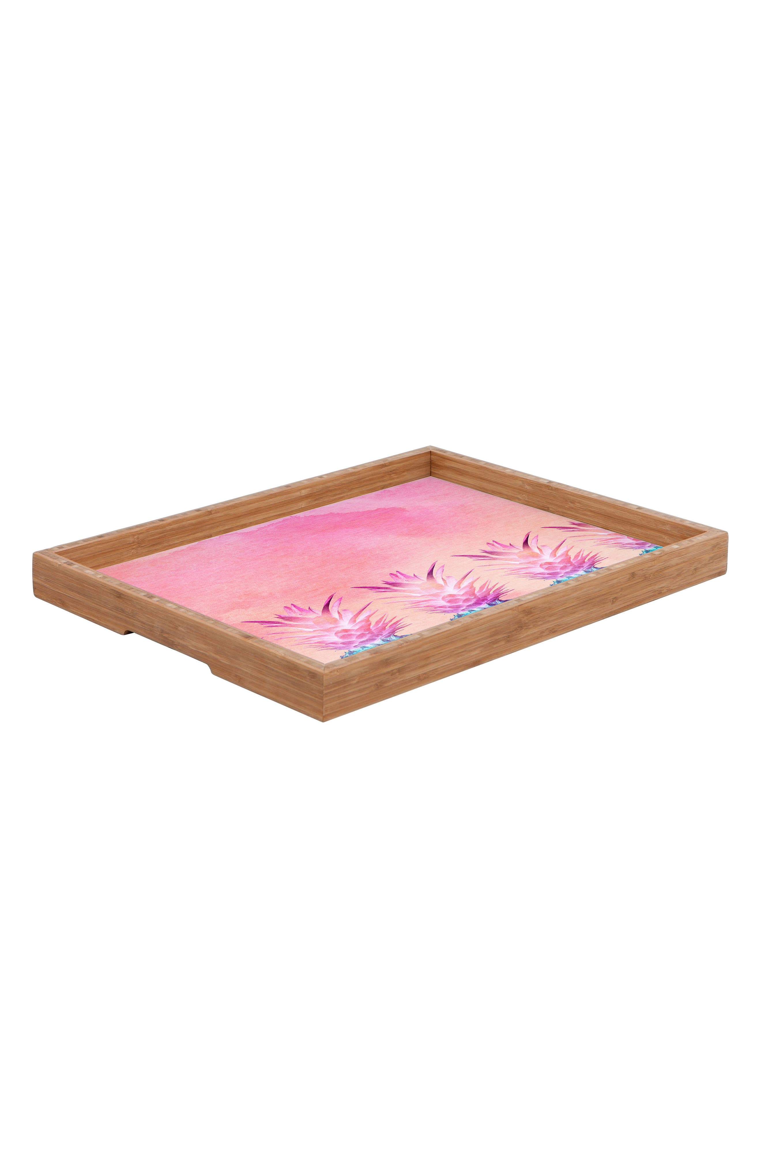 Pineapple Farm Serving Tray,                             Alternate thumbnail 2, color,
