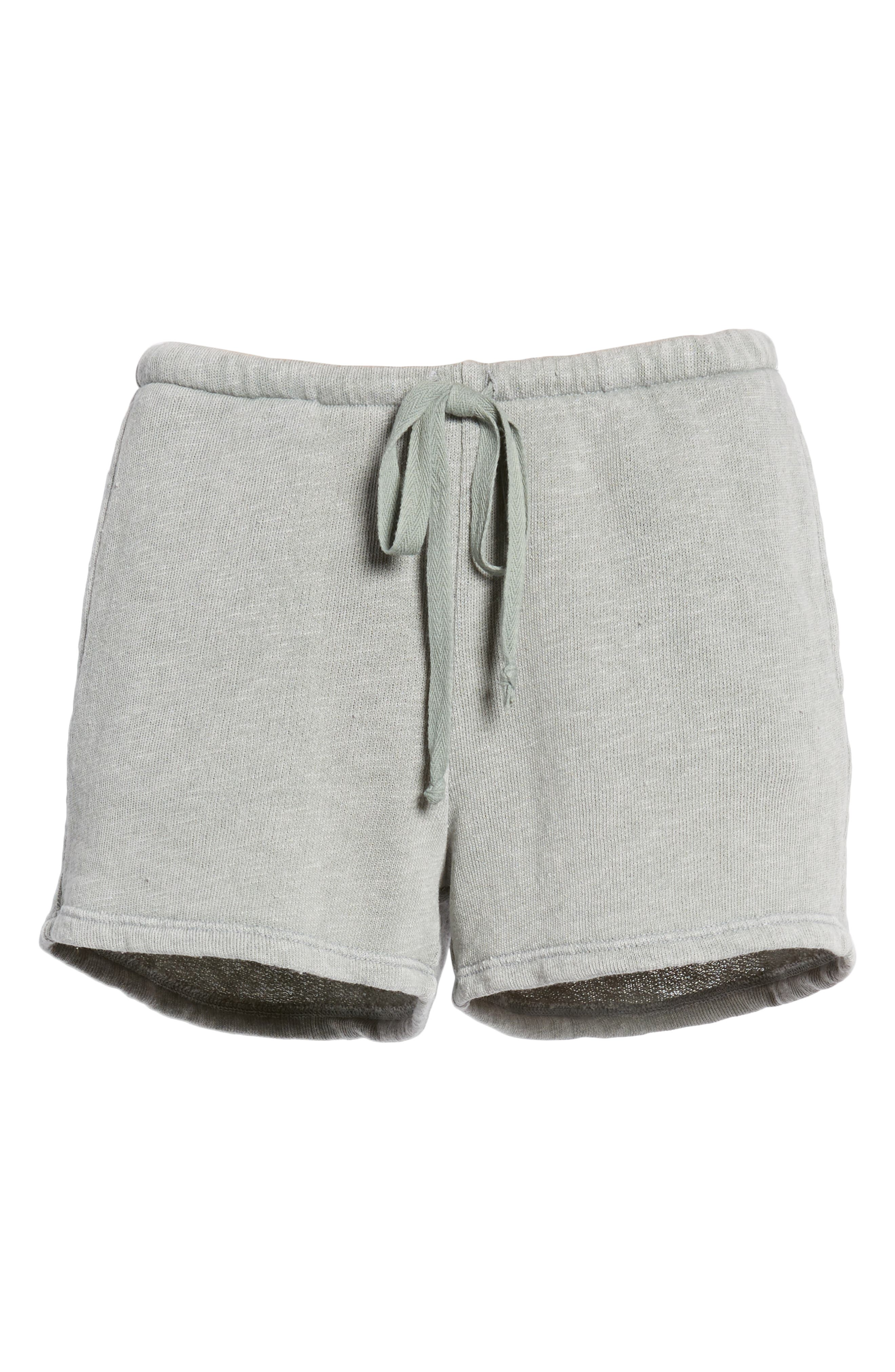 Kiama Shorts,                             Alternate thumbnail 6, color,                             FADED MOSS