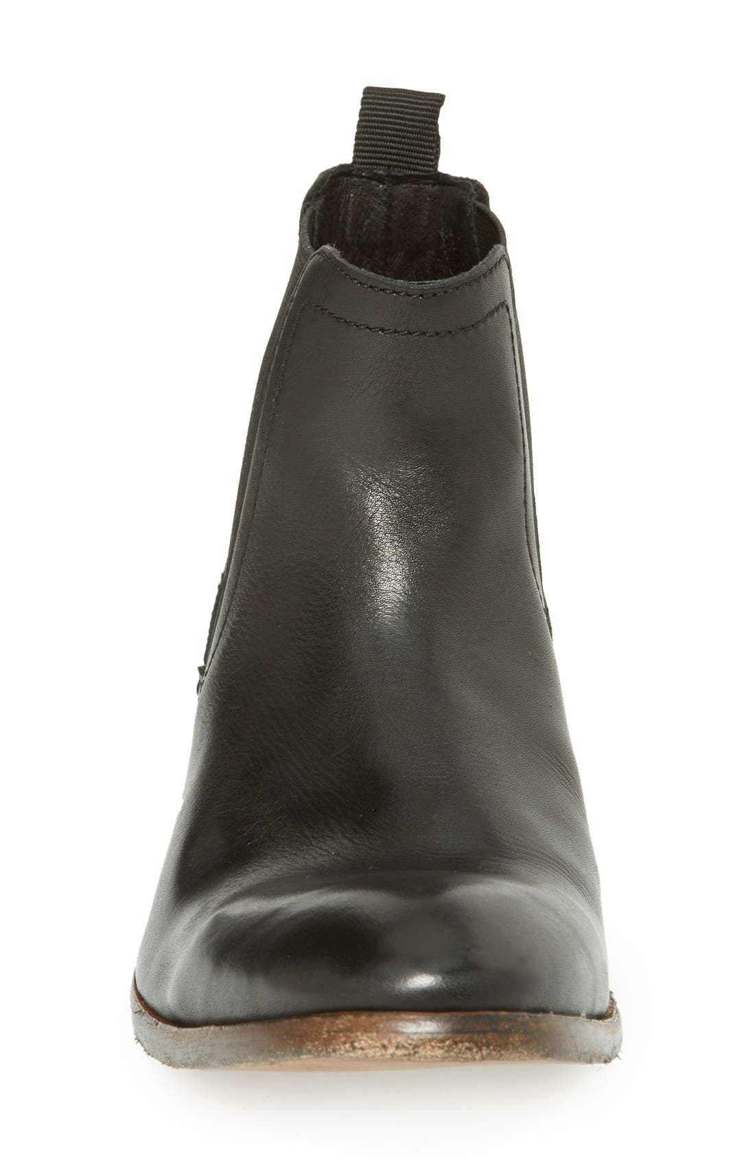 H BY HUDSON,                             'Patterson' Chelsea Boot,                             Alternate thumbnail 2, color,                             001