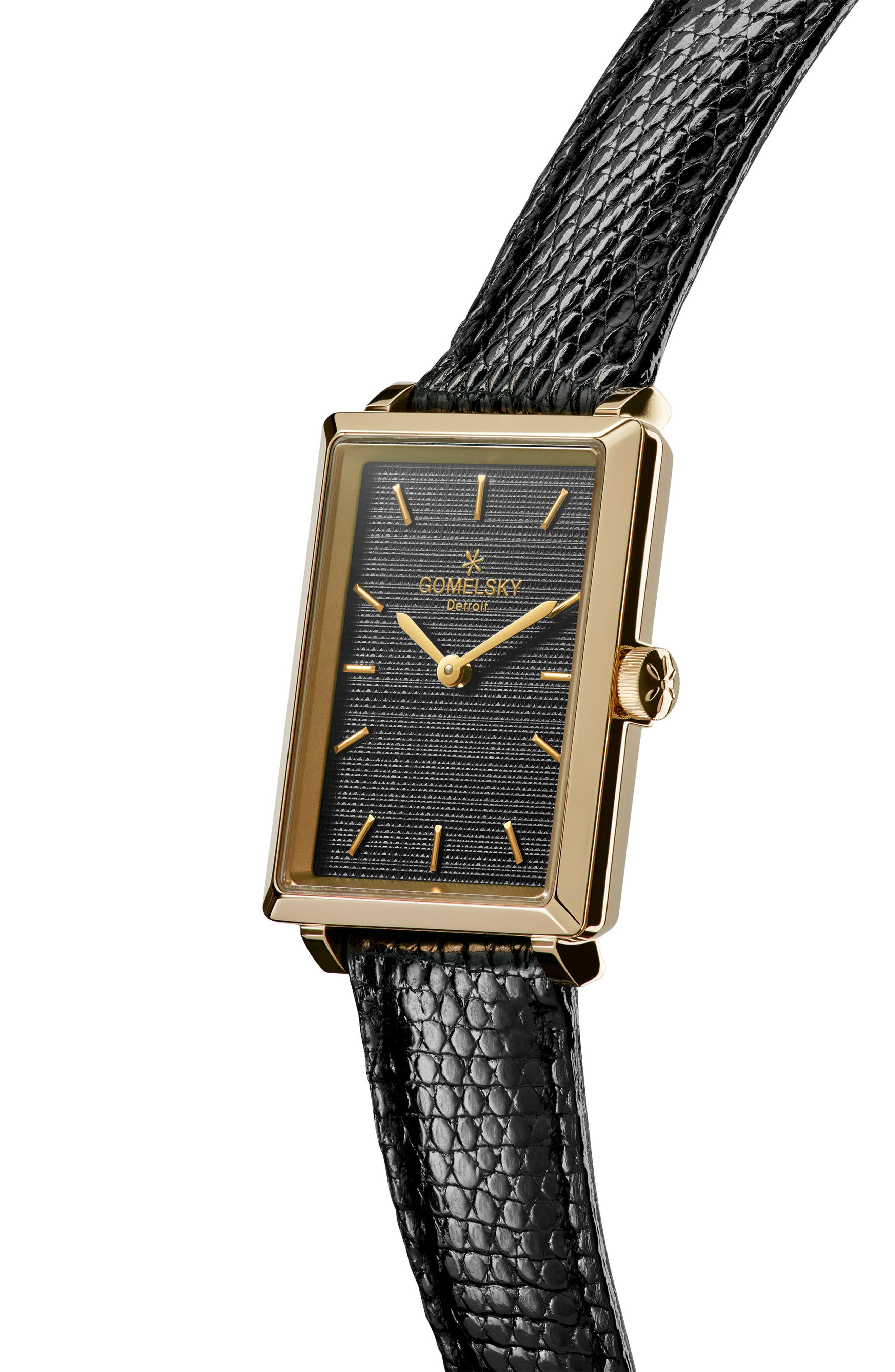 The Shirley Fromer Leather Strap Watch, 32mm x 25mm,                             Alternate thumbnail 13, color,