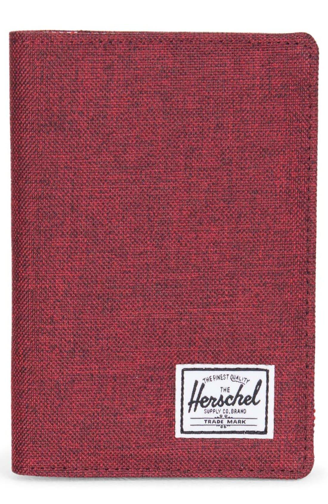 'Raynor' Passport Holder,                             Main thumbnail 6, color,