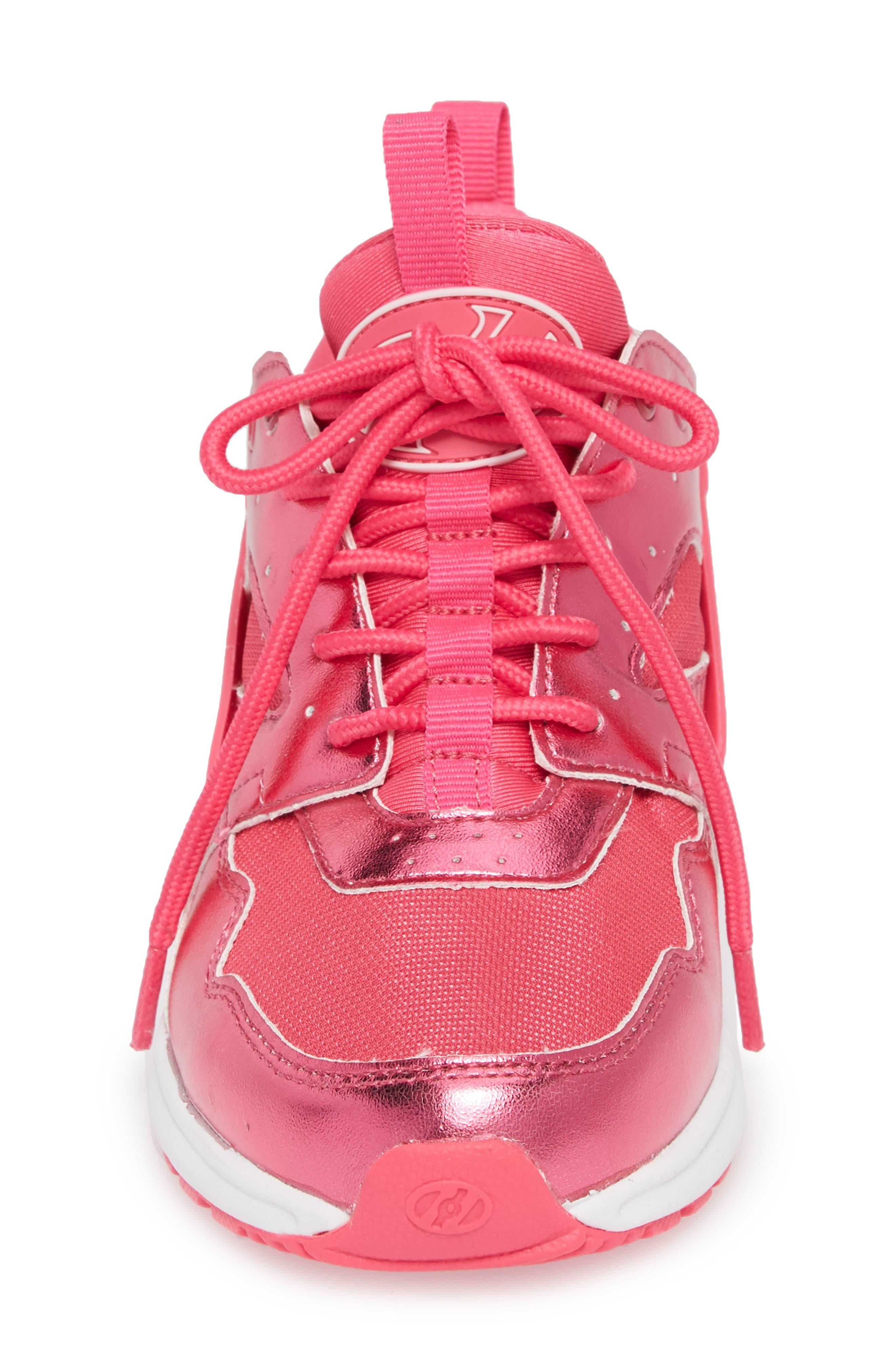 Force Sneaker,                             Alternate thumbnail 4, color,                             PINK