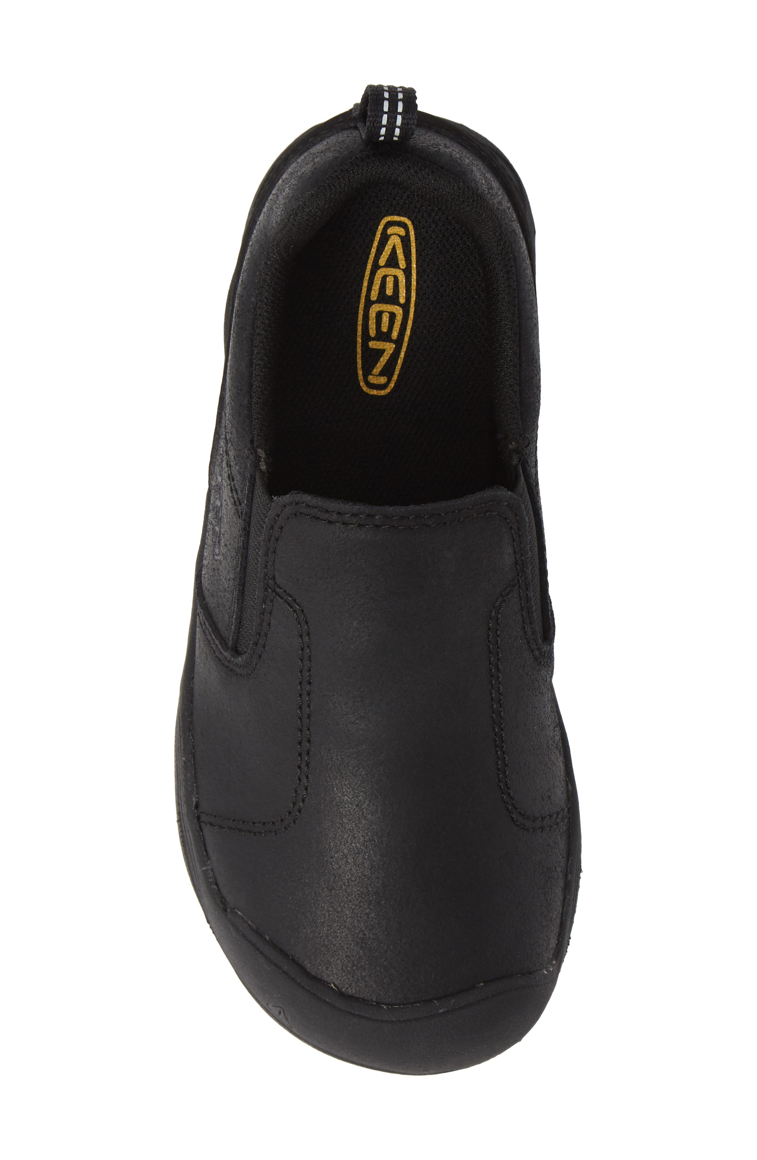 Jasper Slip-On Sneaker,                             Alternate thumbnail 5, color,                             BLACK/ RAVEN