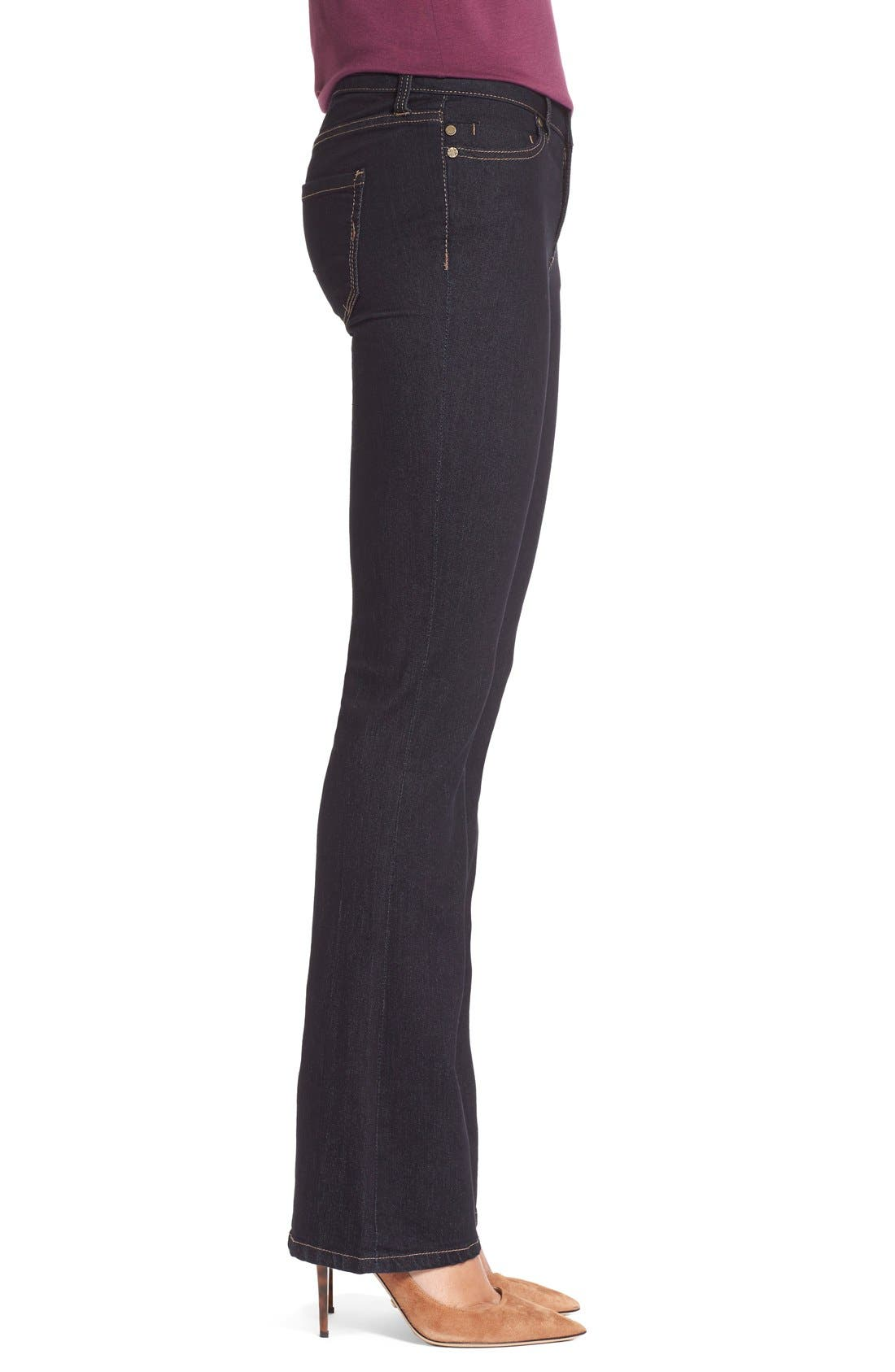 Lucy Stretch BootcutJeans,                             Alternate thumbnail 4, color,