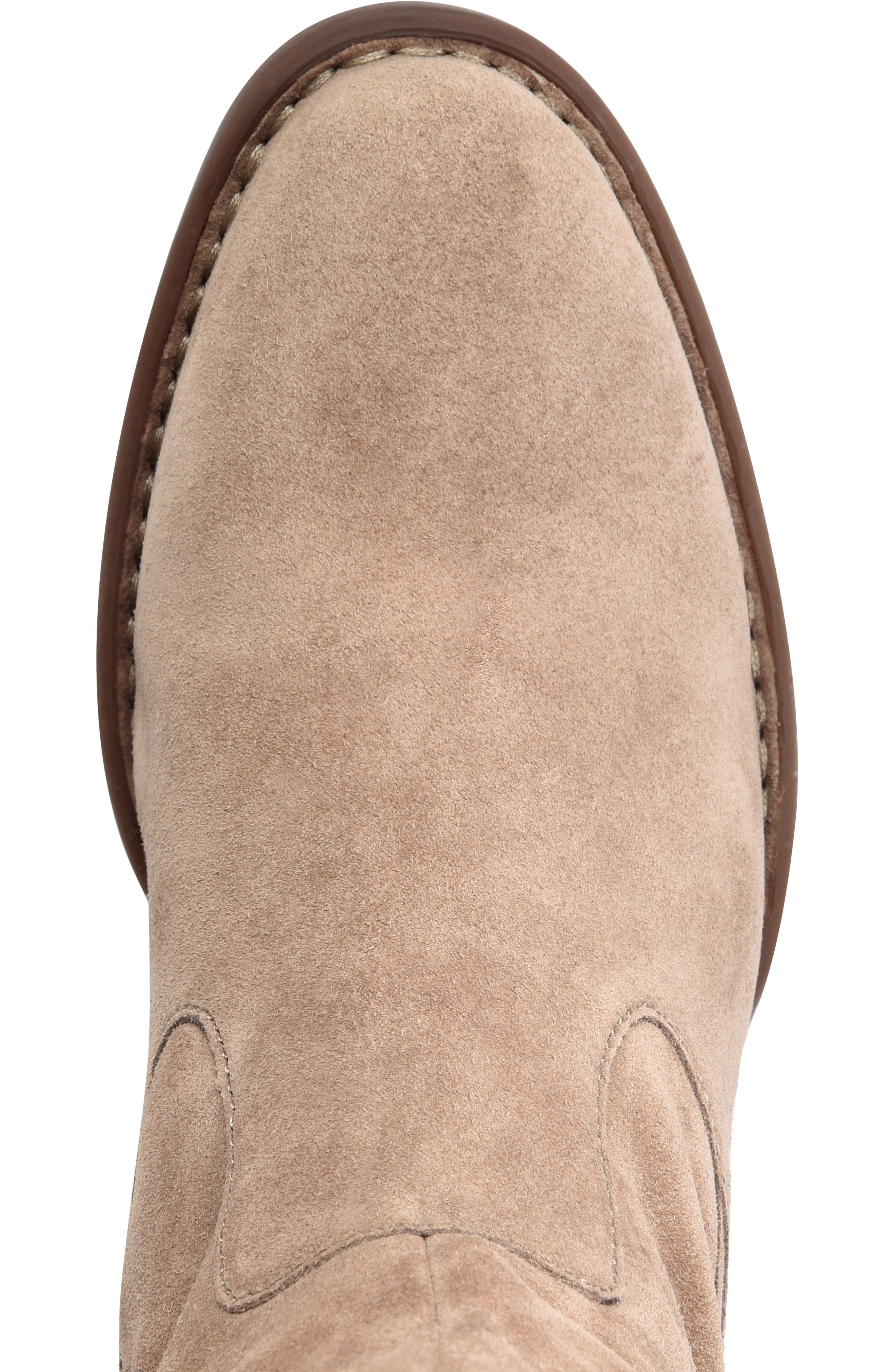 Cricket Over the Knee Boot,                             Alternate thumbnail 5, color,                             TAUPE SUEDE