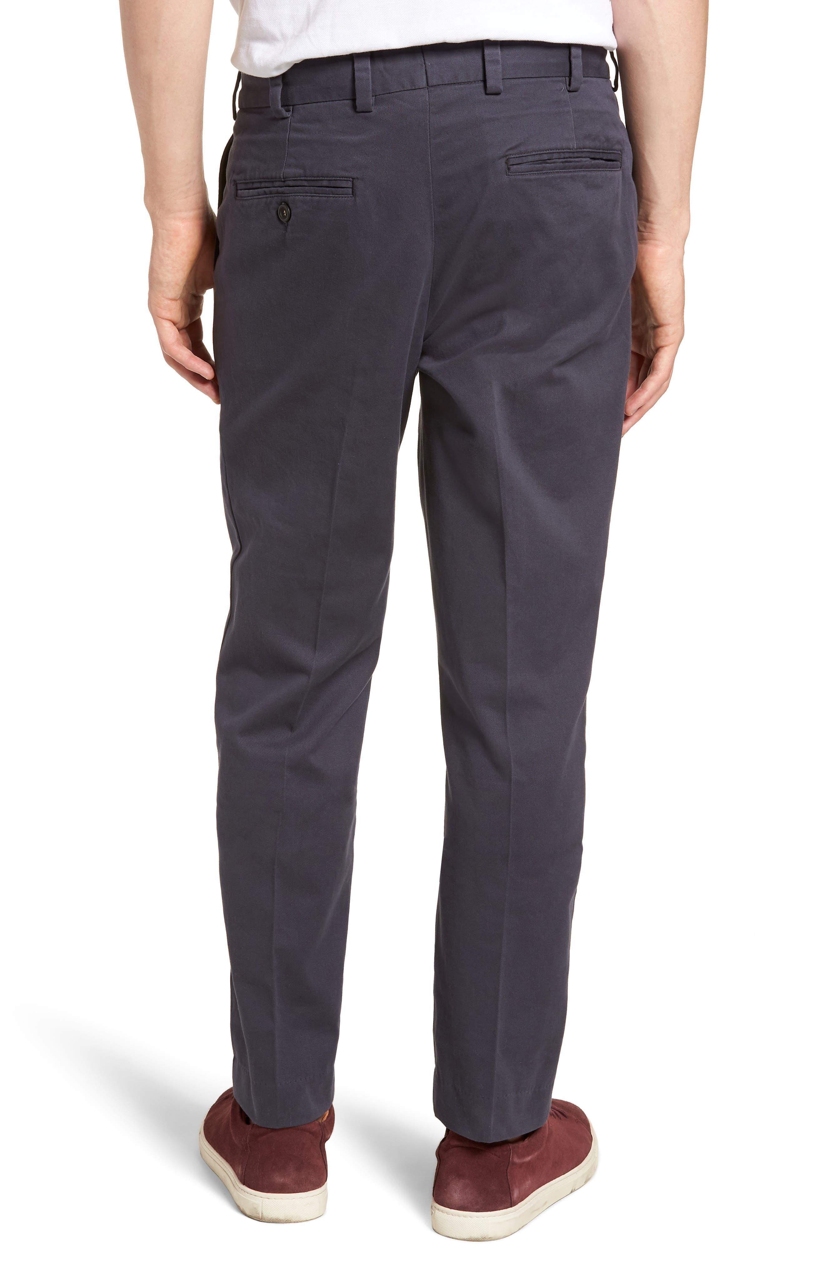 Straight Fit Vintage Twill Pants,                             Alternate thumbnail 2, color,                             410