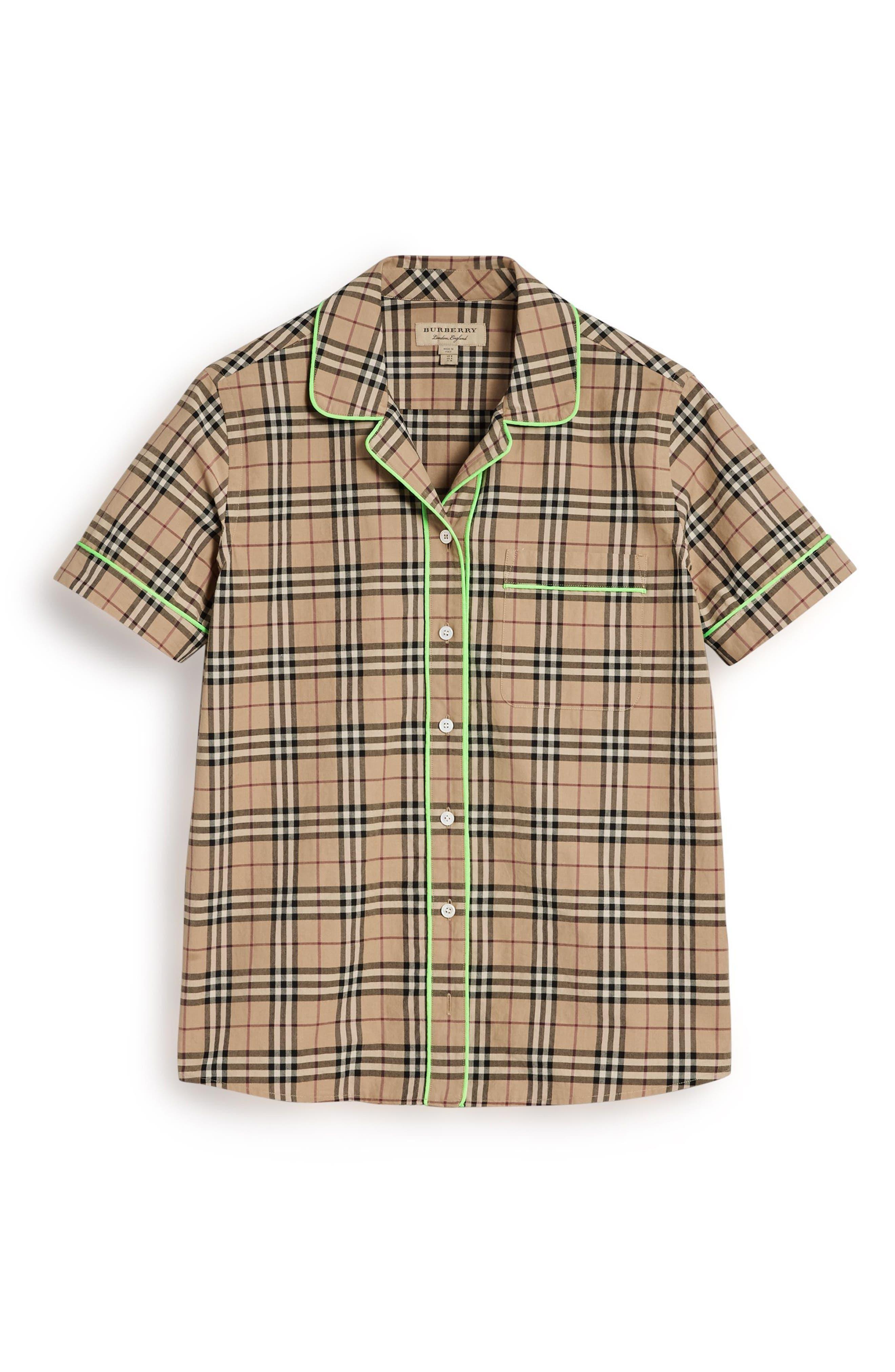Auklet Check Shirt,                             Alternate thumbnail 4, color,                             231