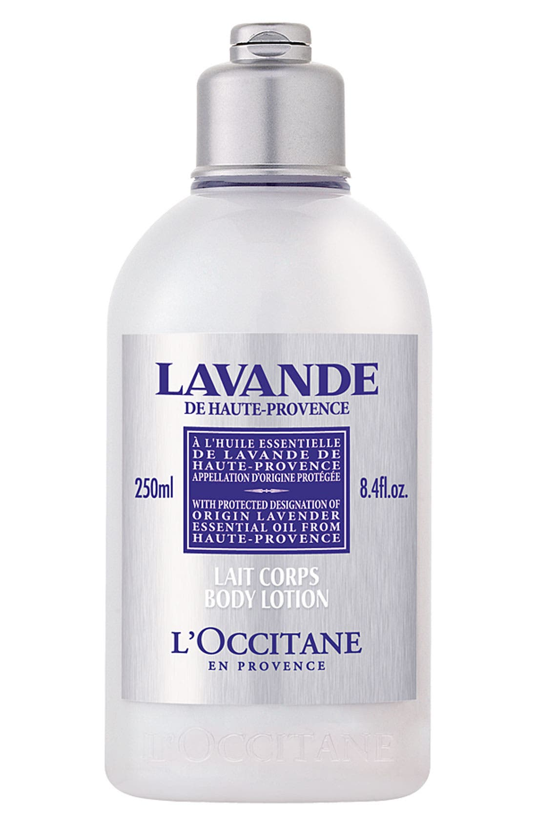 L'OCCITANE,                             Lavender Organic Body Lotion,                             Main thumbnail 1, color,                             000
