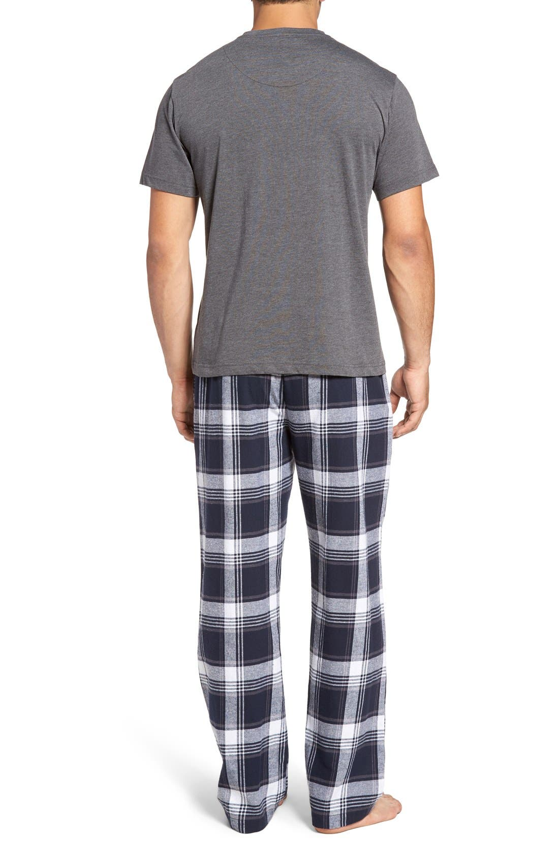 T-Shirt & Lounge Pants,                             Alternate thumbnail 2, color,                             035