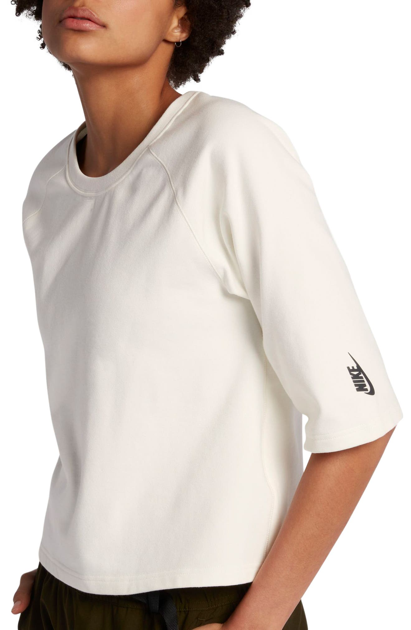 NikeLab Essential Fleece Top,                             Main thumbnail 1, color,