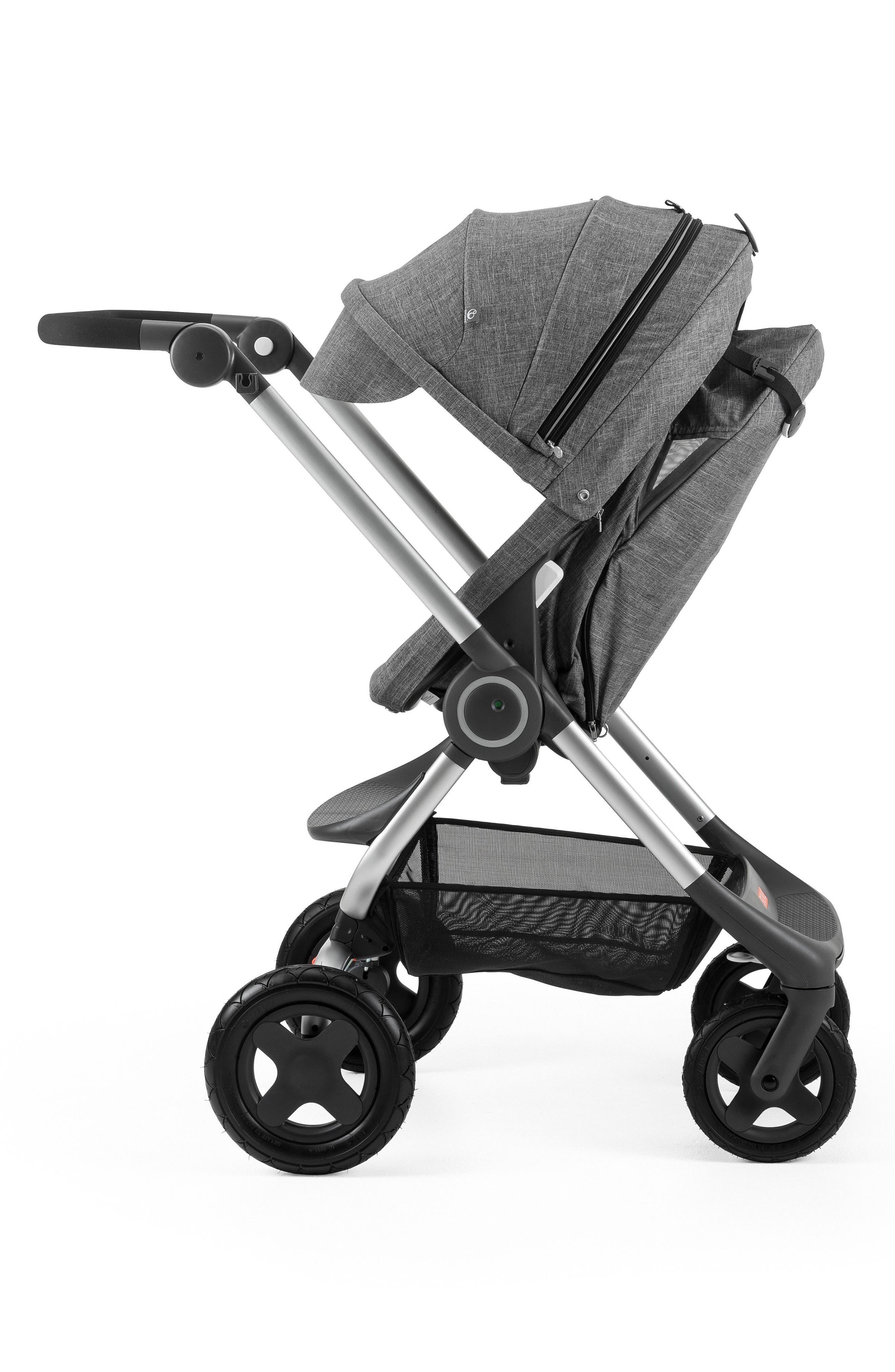 Scoot<sup>™</sup> Complete Stroller,                             Alternate thumbnail 2, color,                             BLACK MELANGE