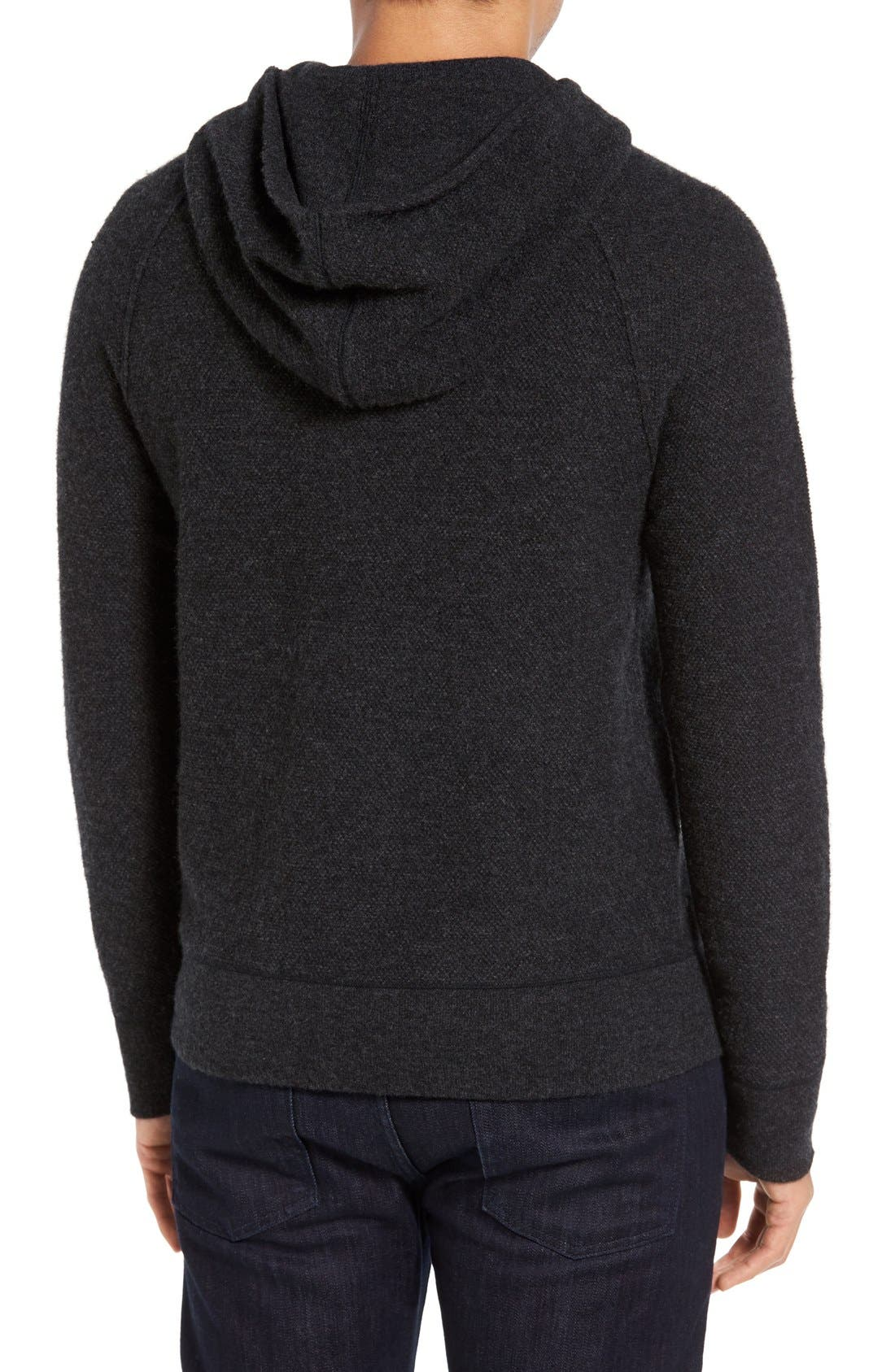 JAMES PERSE,                             Cashmere Hoodie,                             Alternate thumbnail 3, color,                             052