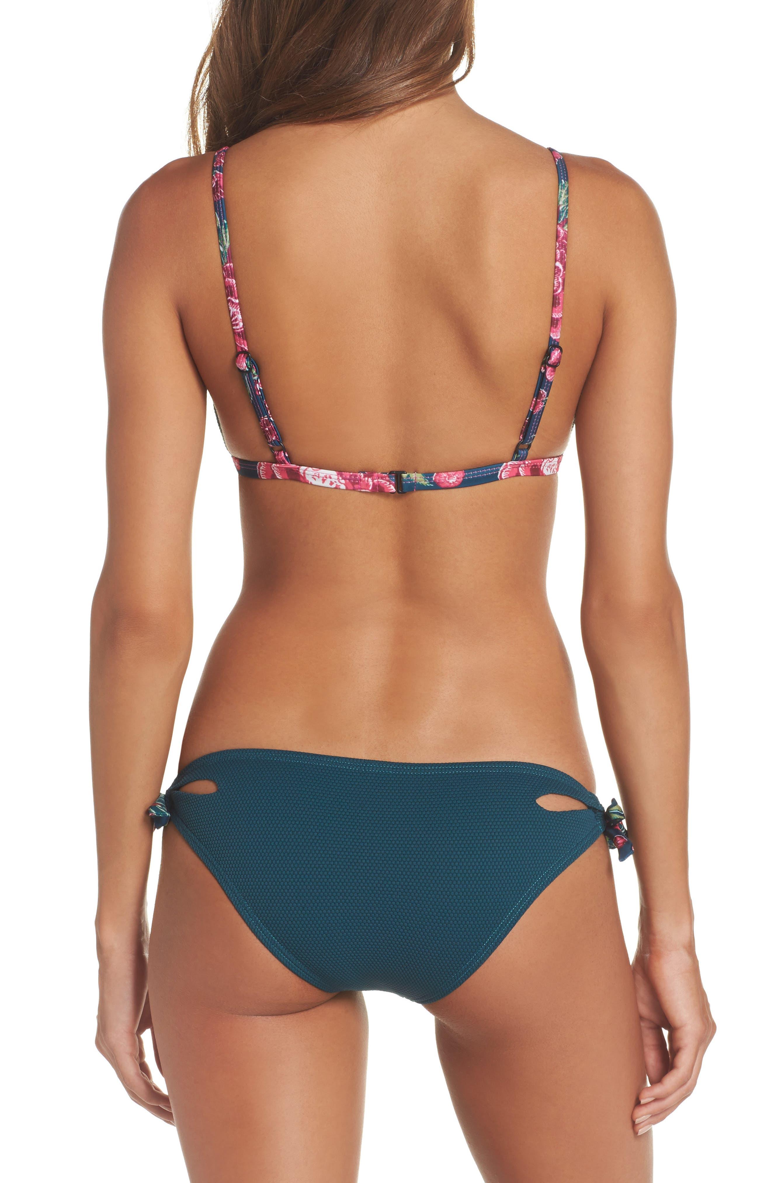Side Tie Bikini Bottoms,                             Alternate thumbnail 7, color,                             448