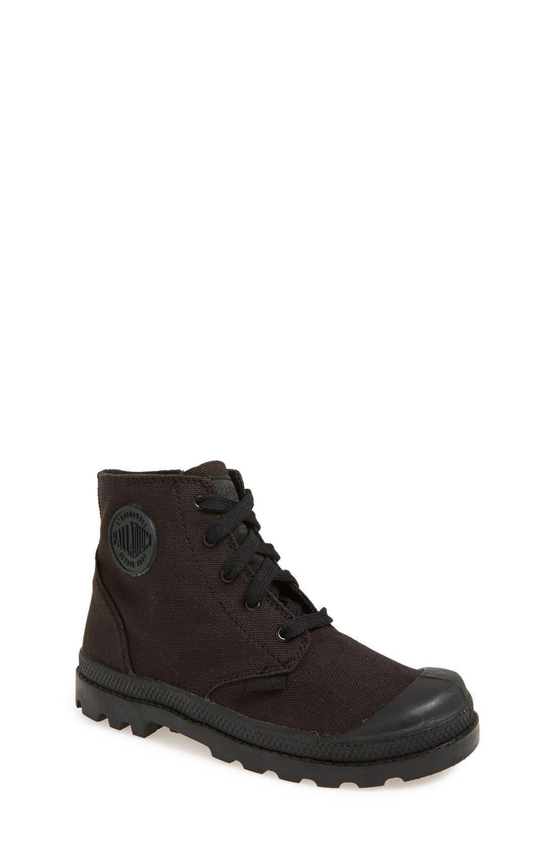 'Pampa Hi' Zip Boot, Main, color, 001