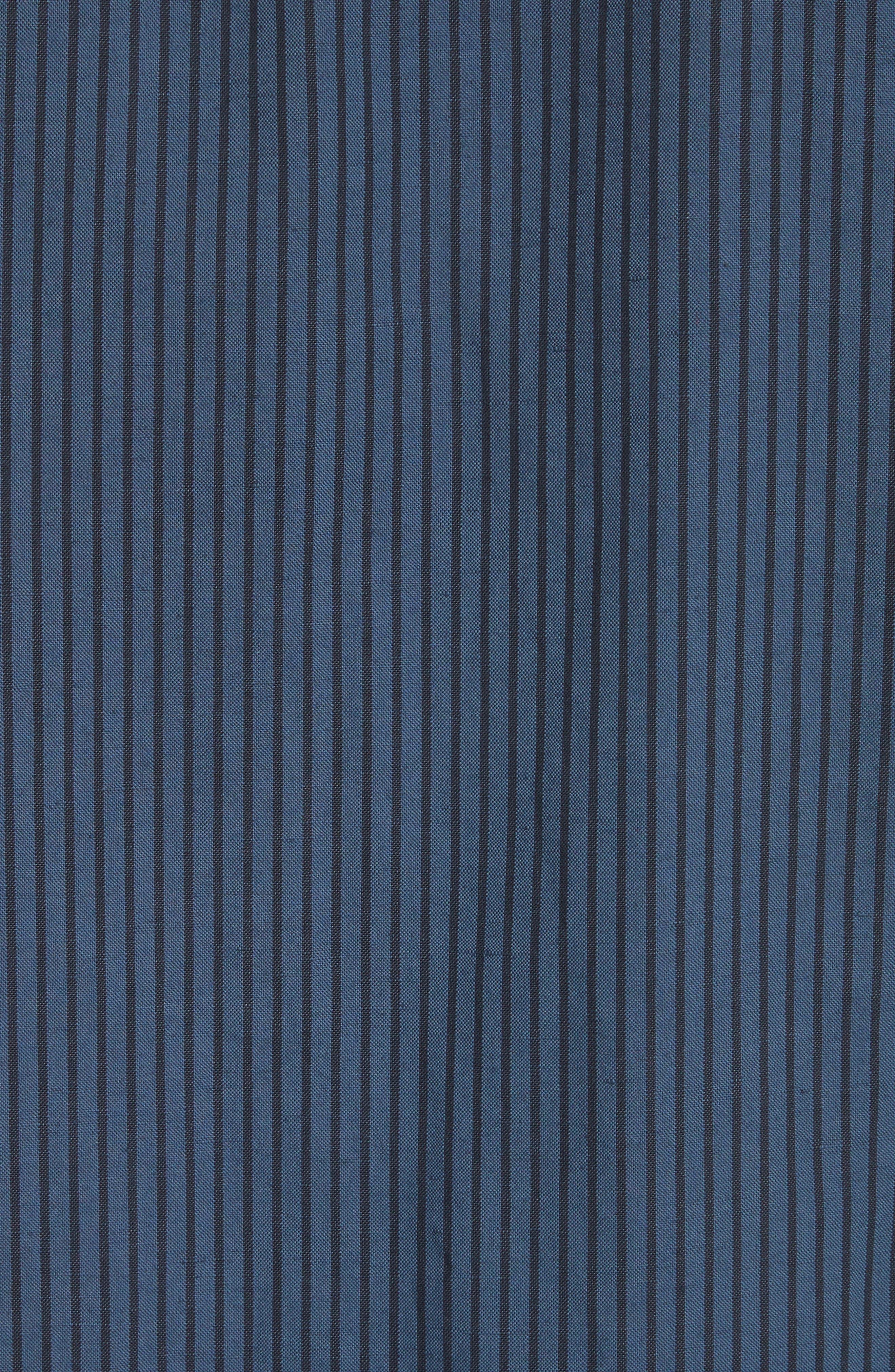 Beach Fit 3 Stripe Shirt,                             Alternate thumbnail 5, color,