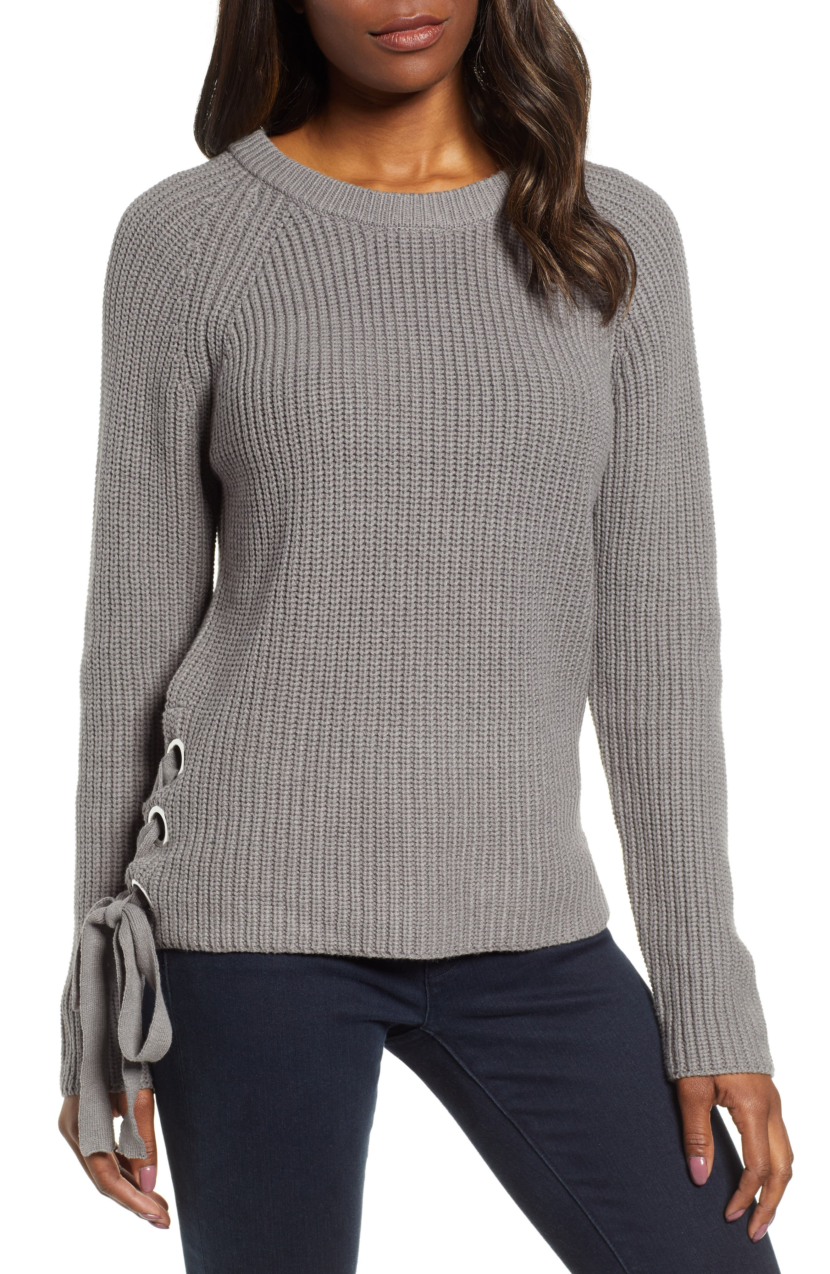 Adire Sweater,                         Main,                         color, GREY