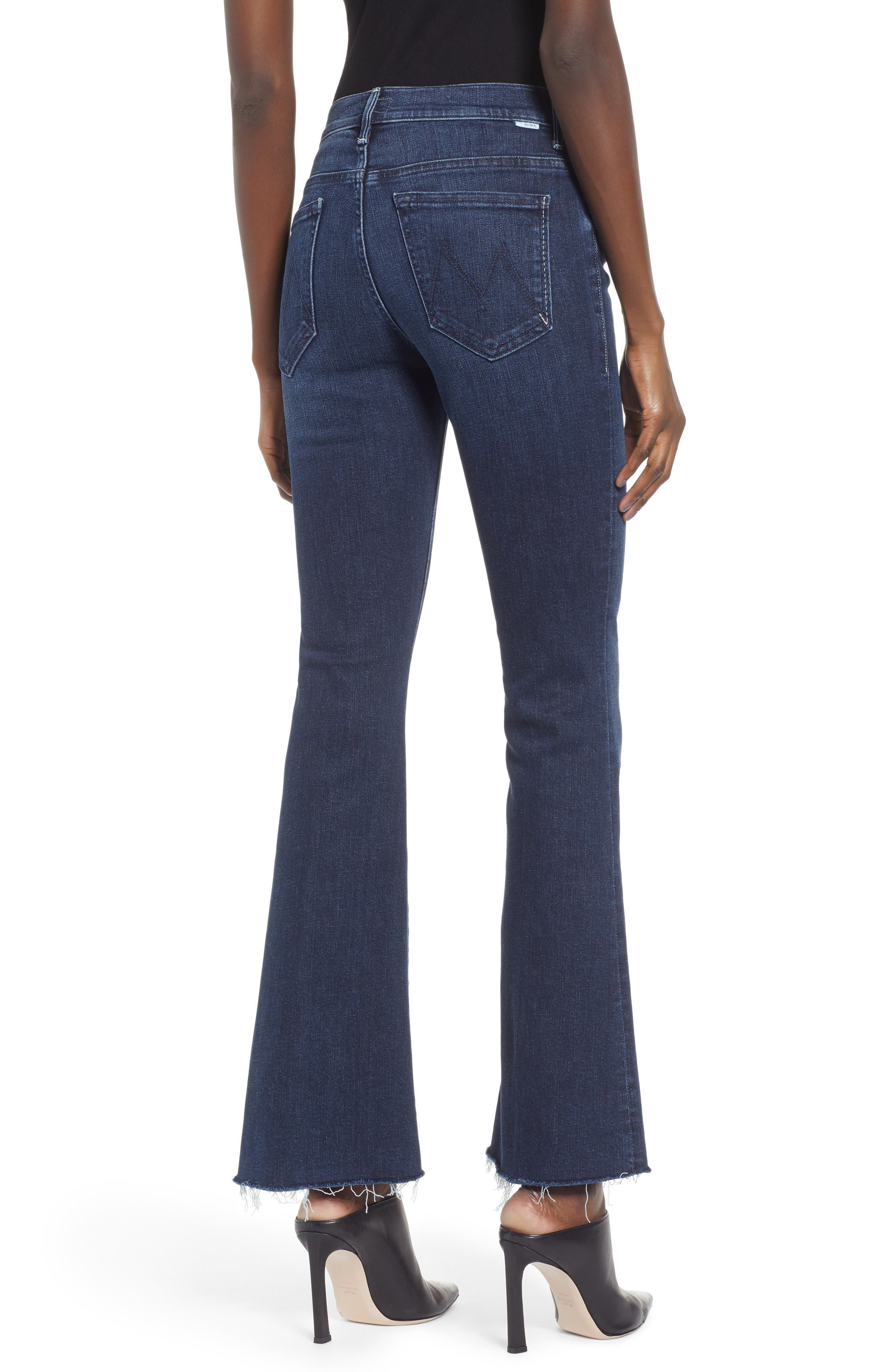 Frayed Bootcut Jeans,                             Alternate thumbnail 2, color,                             DISCO DOLLS