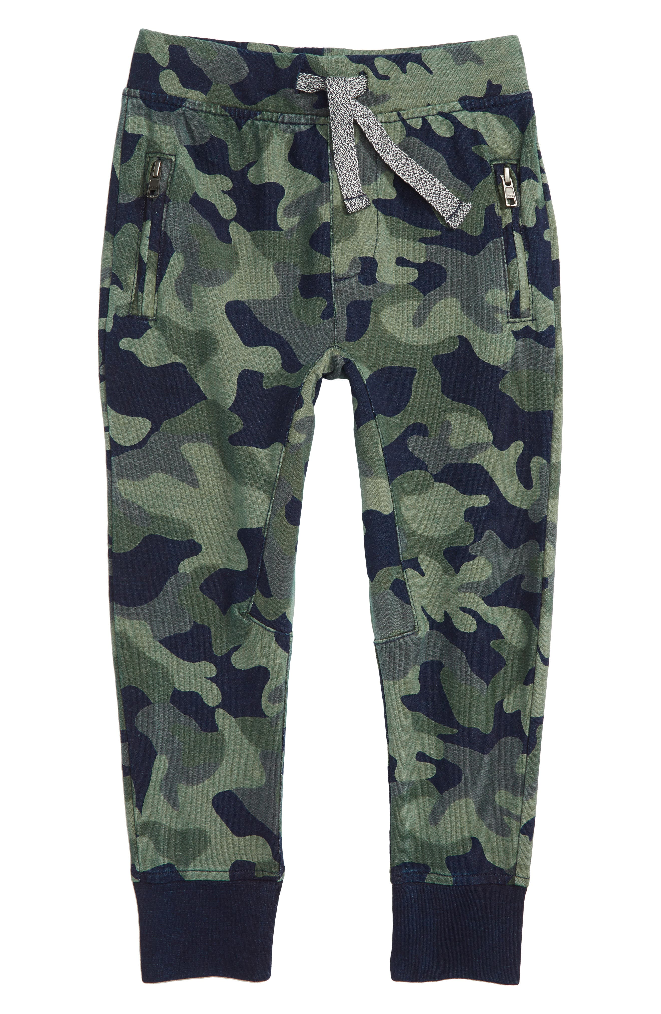 Slim Fit Camo Print Sweatpants,                         Main,                         color, 400