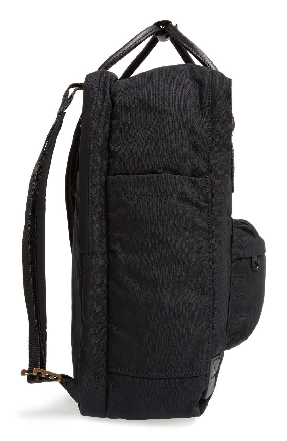 Kånken No. 2 Laptop Backpack,                             Alternate thumbnail 3, color,                             BLACK