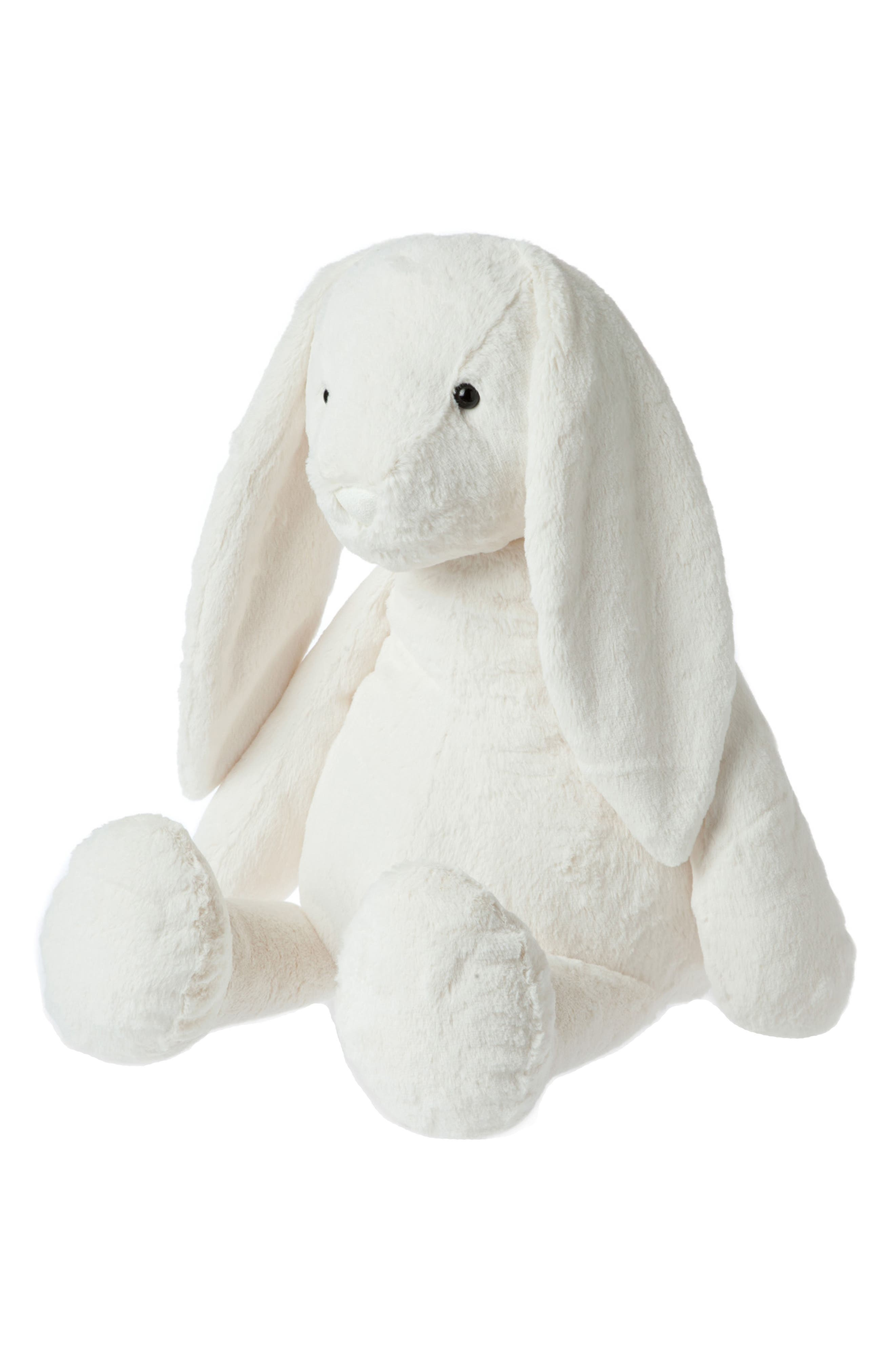 Lovelies - Jumbo Riley Rabbit Stuffed Animal,                             Alternate thumbnail 2, color,                             100