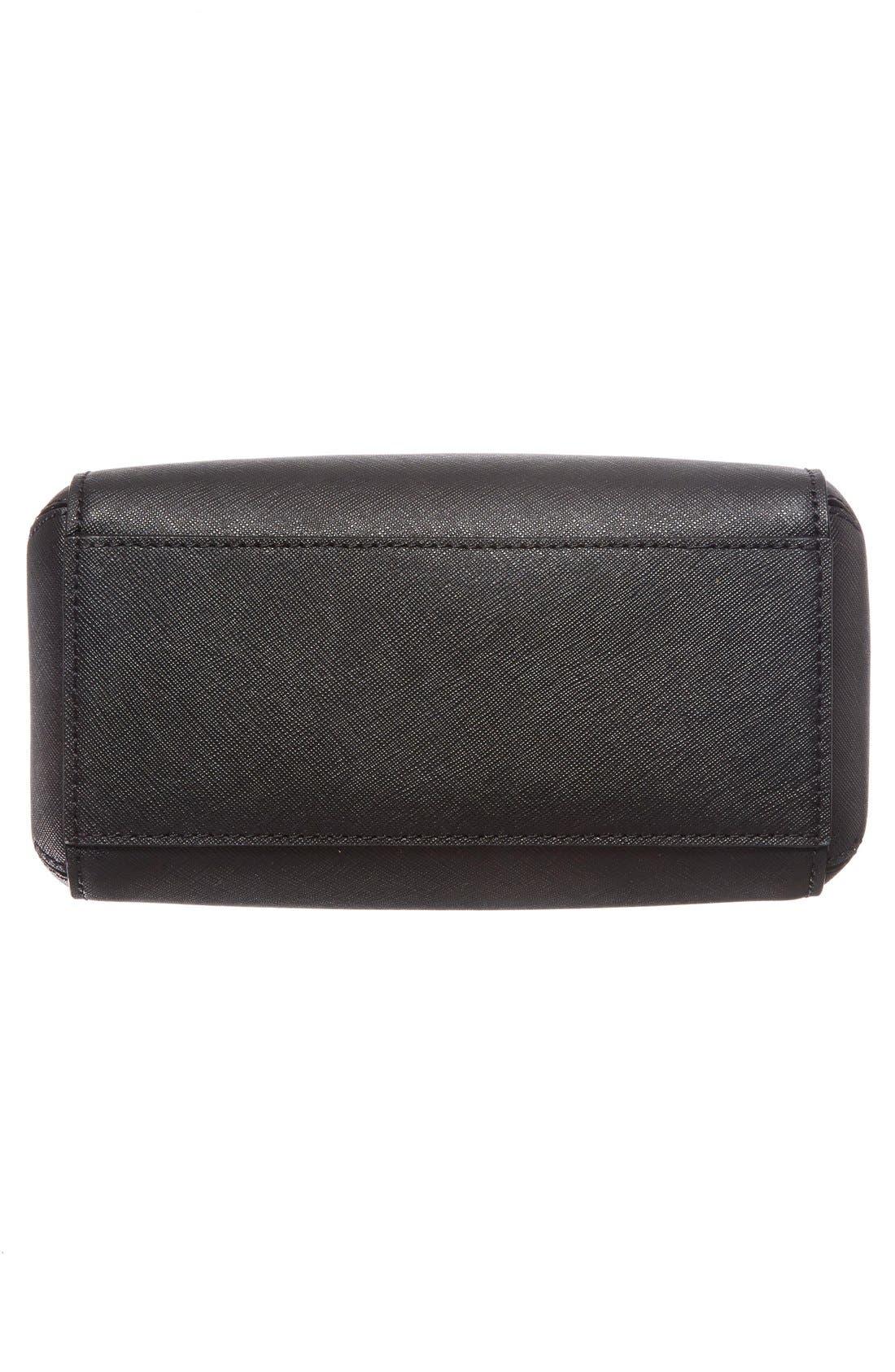 cameron street lane leather satchel,                             Alternate thumbnail 4, color,                             001
