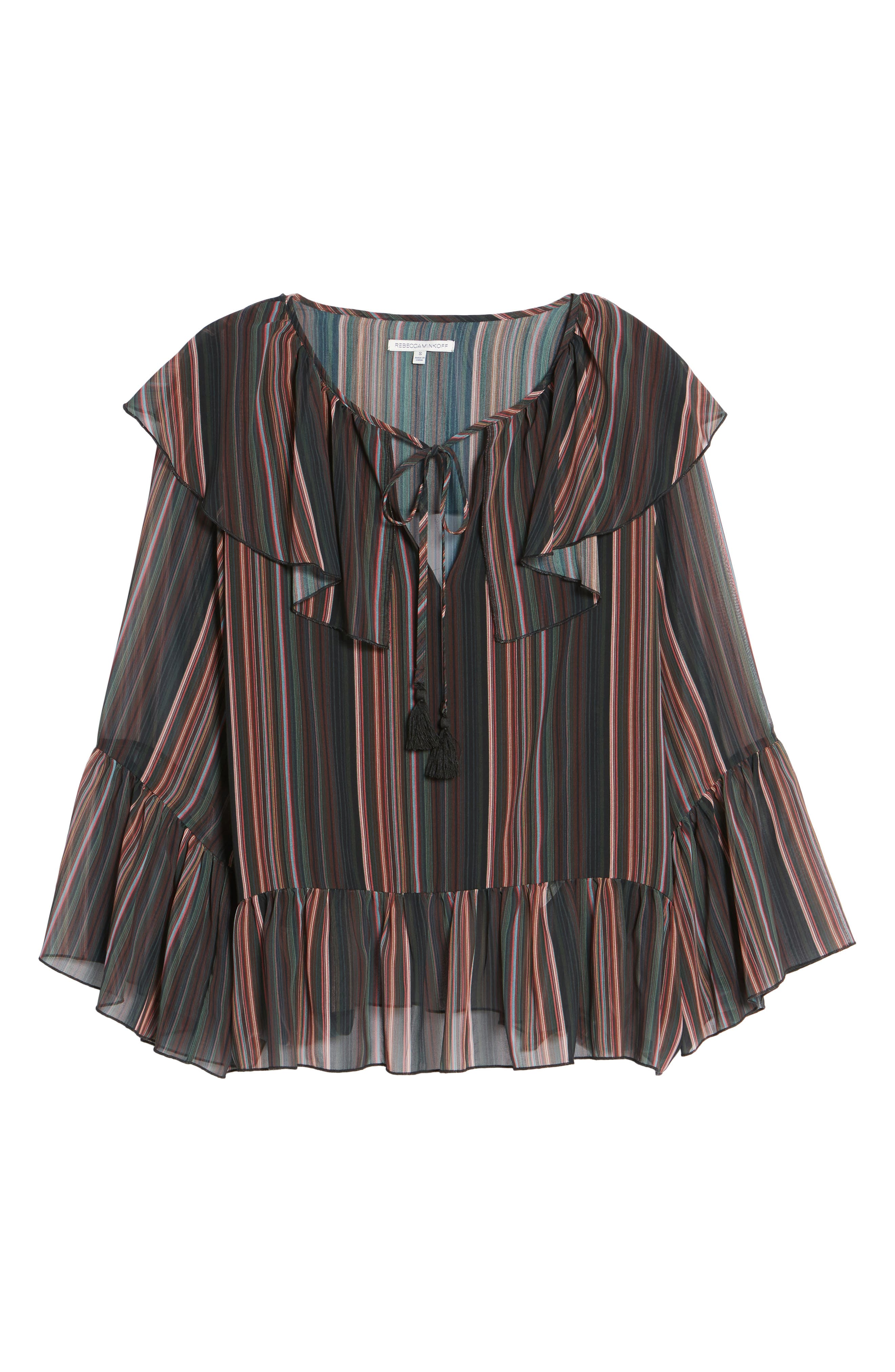 Patti Bell Sleeve Top,                             Alternate thumbnail 6, color,                             008