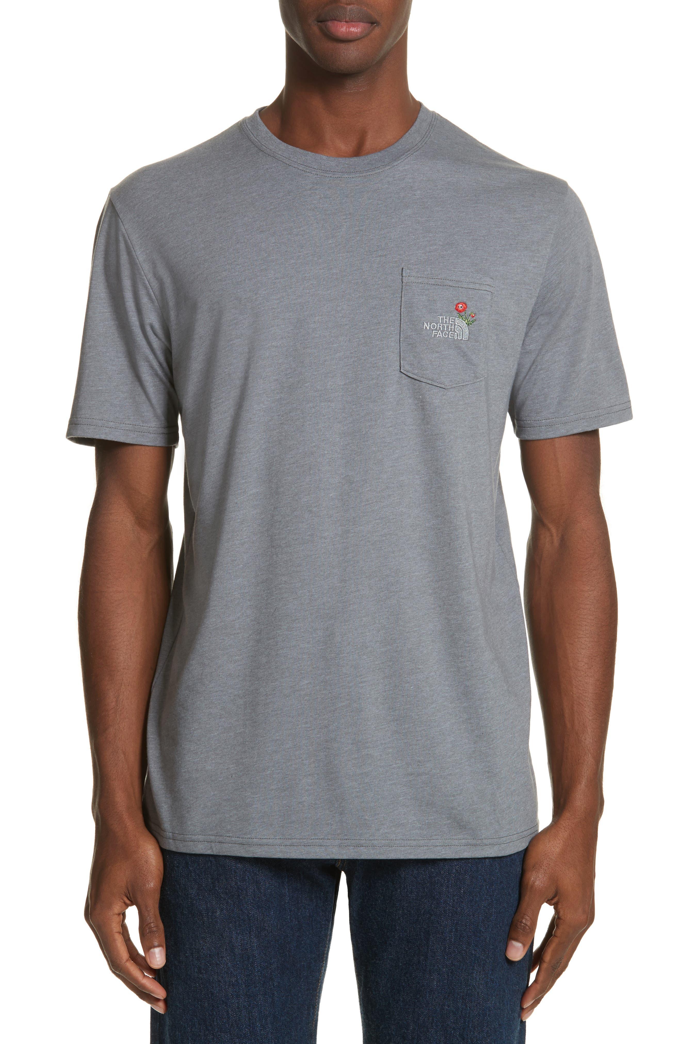 Unisex Pocket T-Shirt,                         Main,                         color, 030