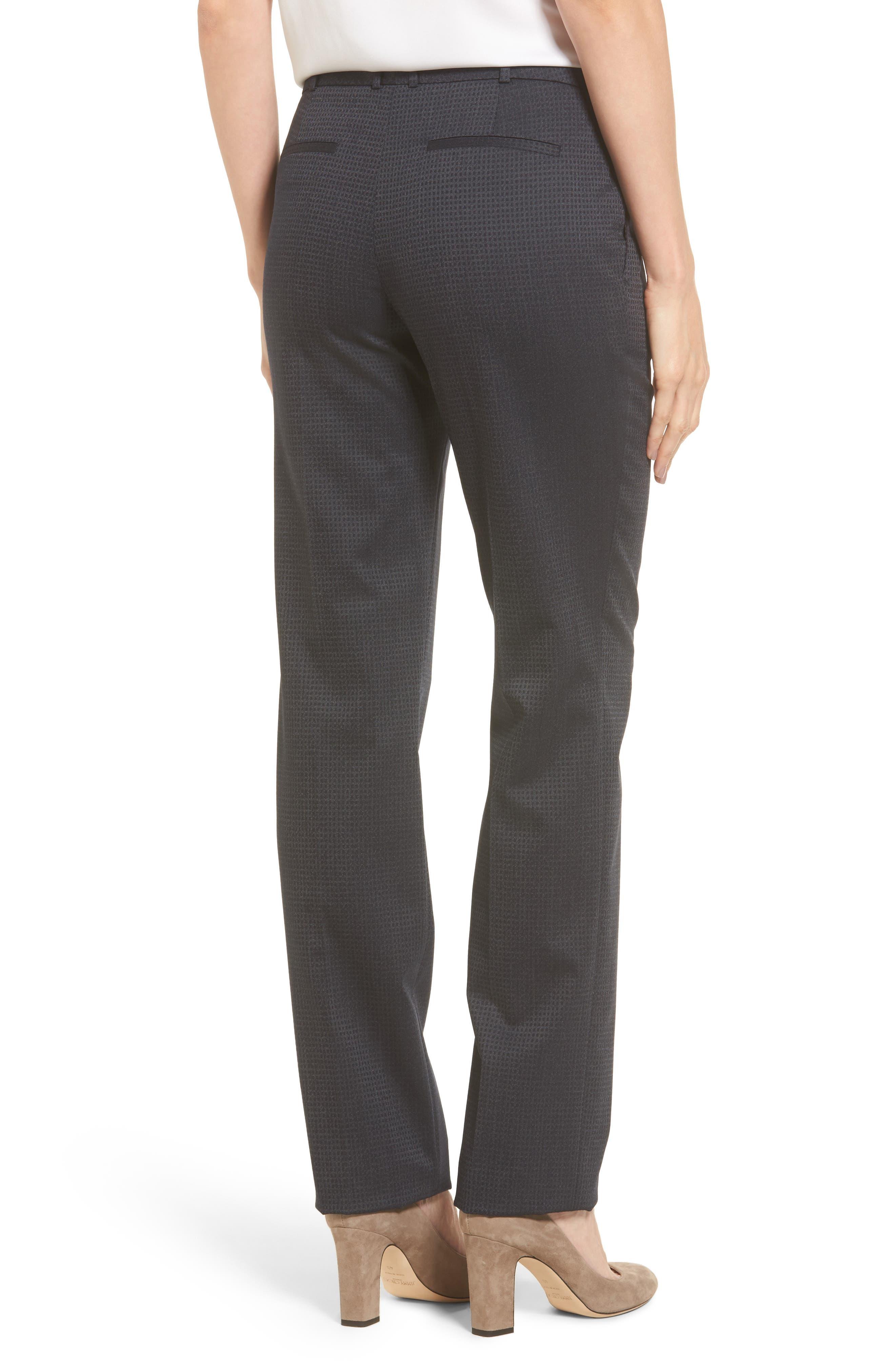 Tamea Stretch Wool Straight Leg Trousers,                             Alternate thumbnail 2, color,                             461