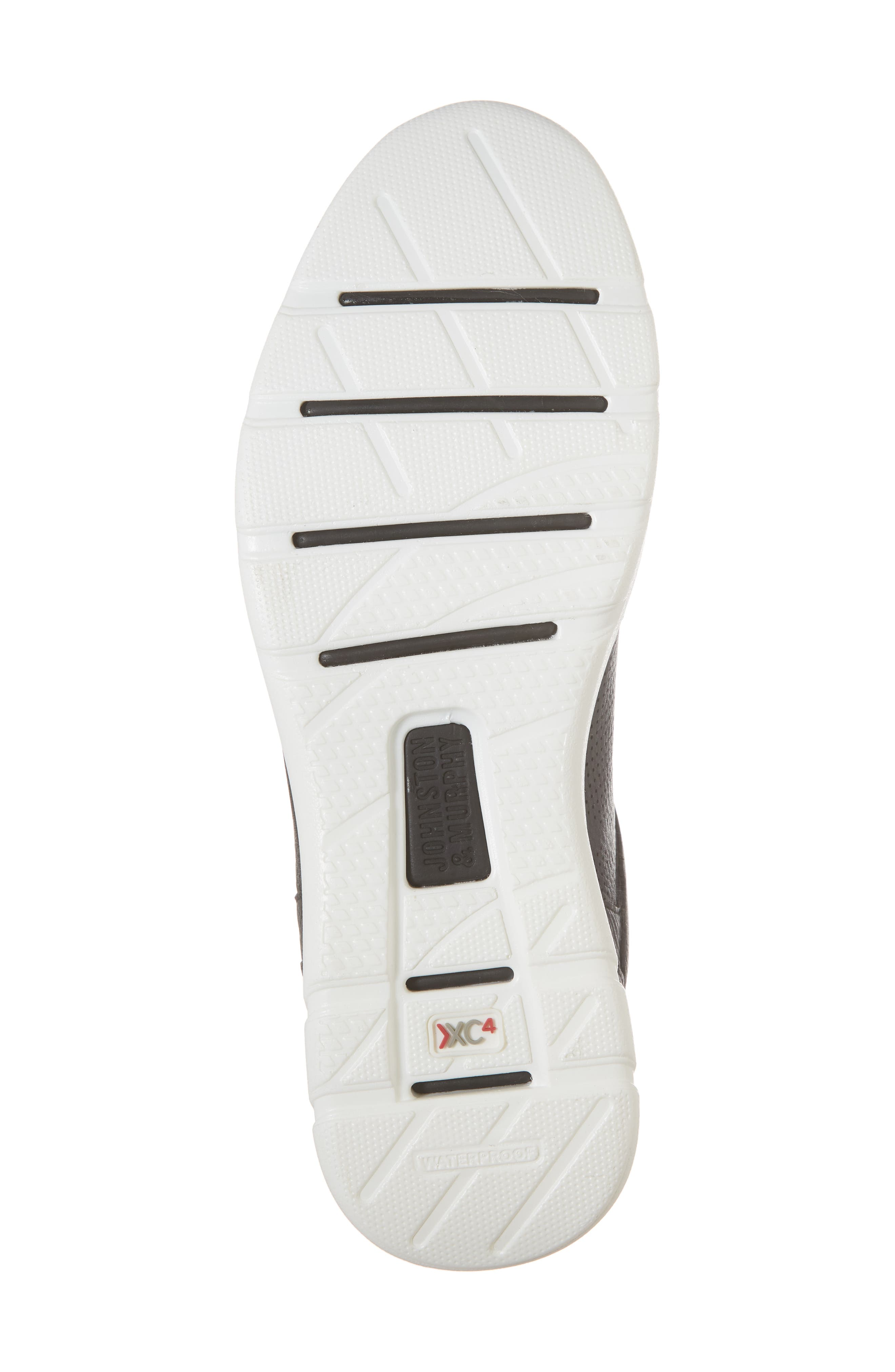 Prentiss XC4<sup>®</sup> Waterproof Sneaker,                             Alternate thumbnail 6, color,                             BLACK LEATHER