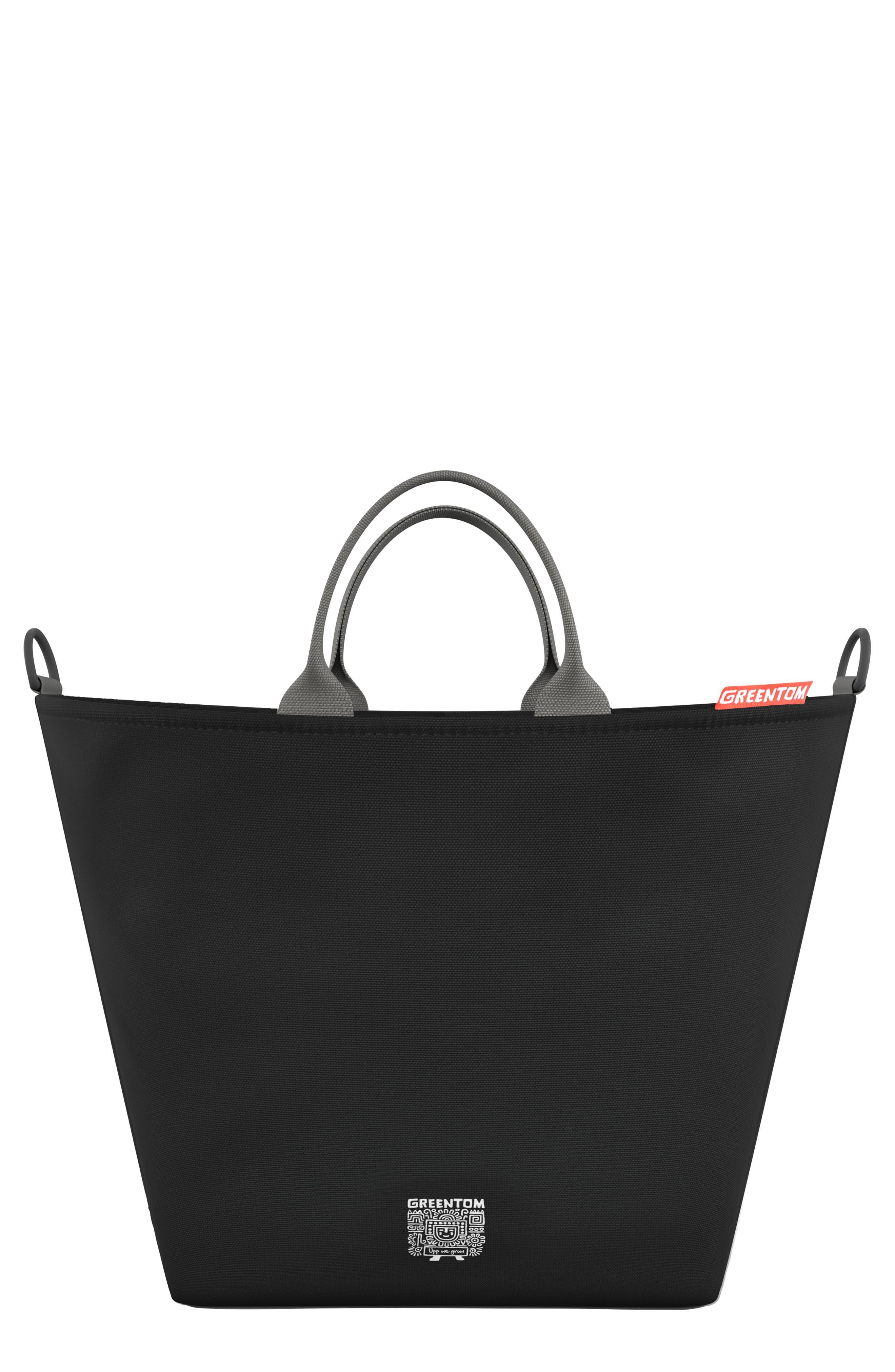 Shopping Bag,                             Main thumbnail 1, color,                             BLACK