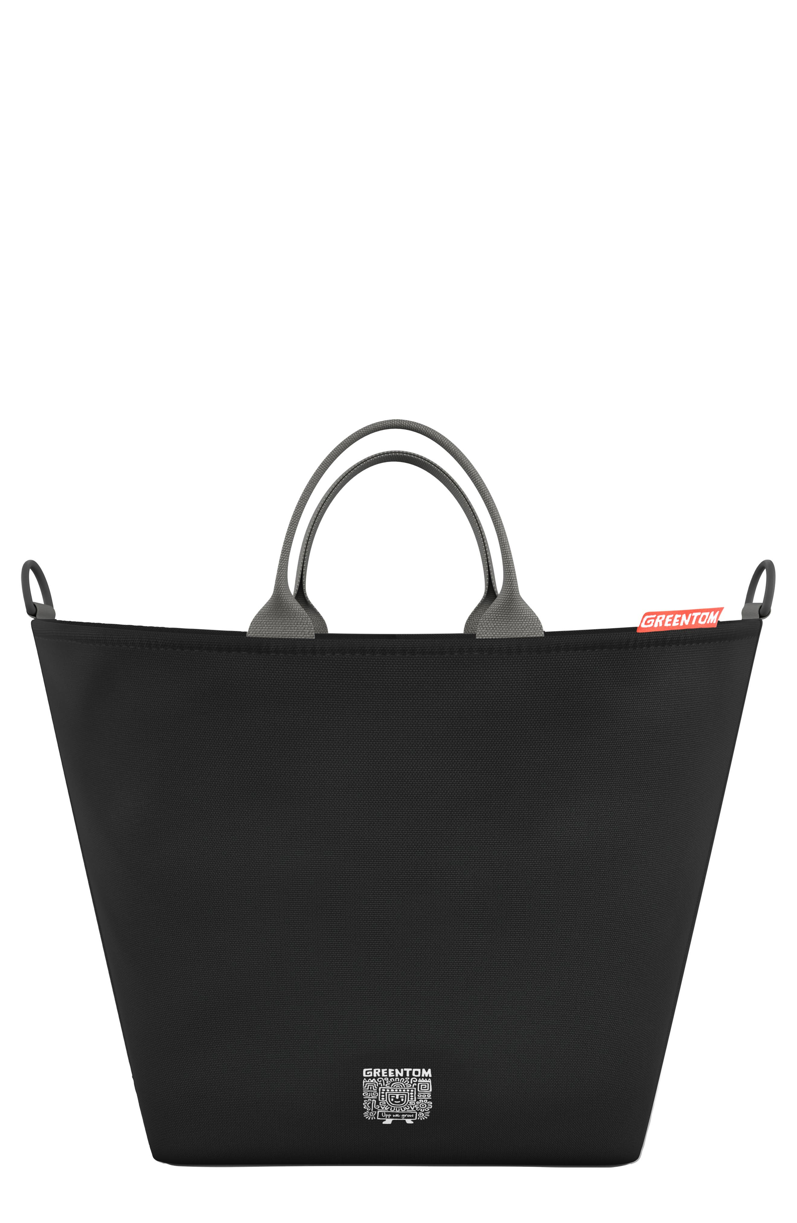 Shopping Bag,                         Main,                         color, BLACK