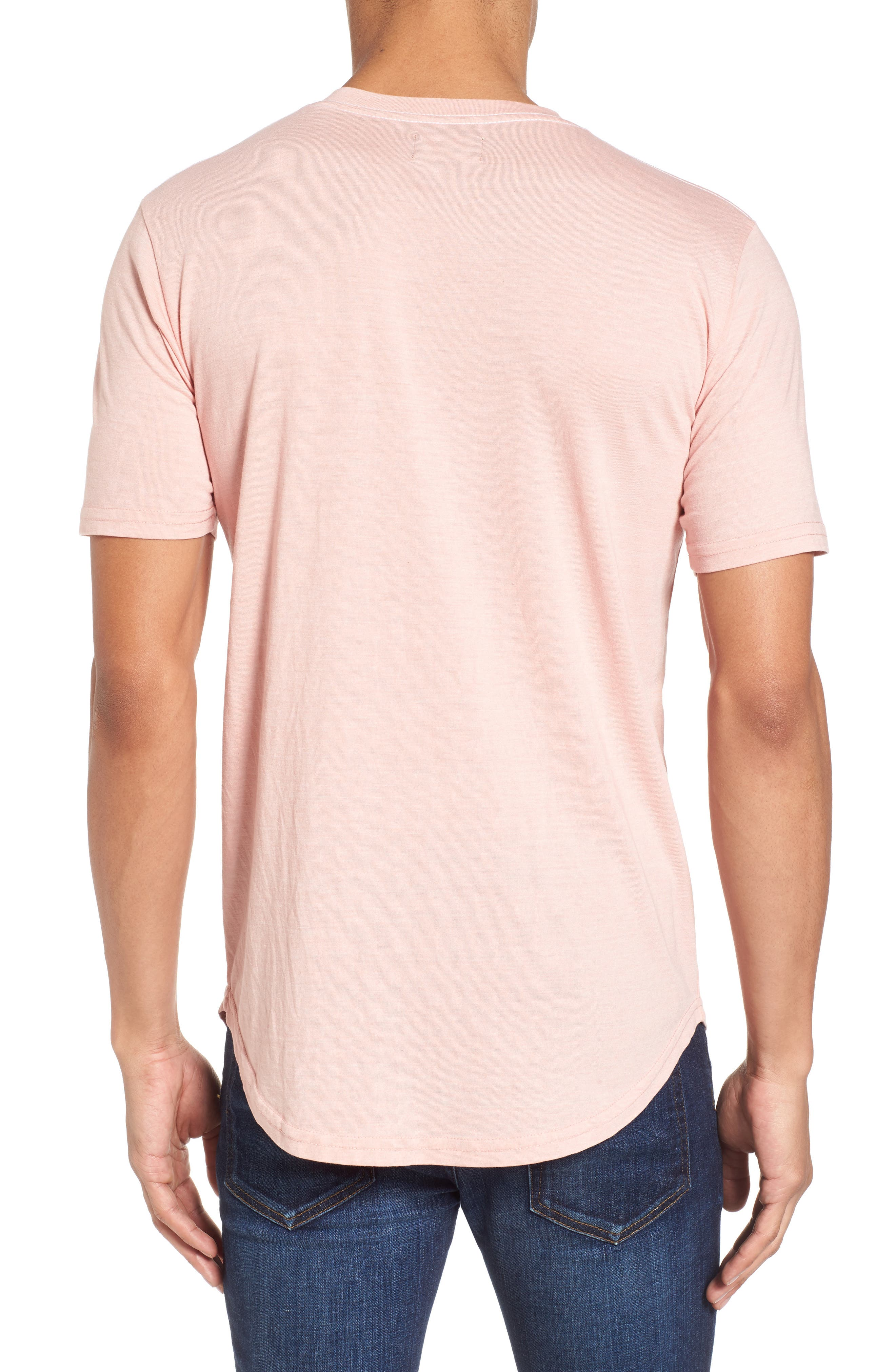 Scallop Triblend V-Neck T-Shirt,                             Alternate thumbnail 35, color,