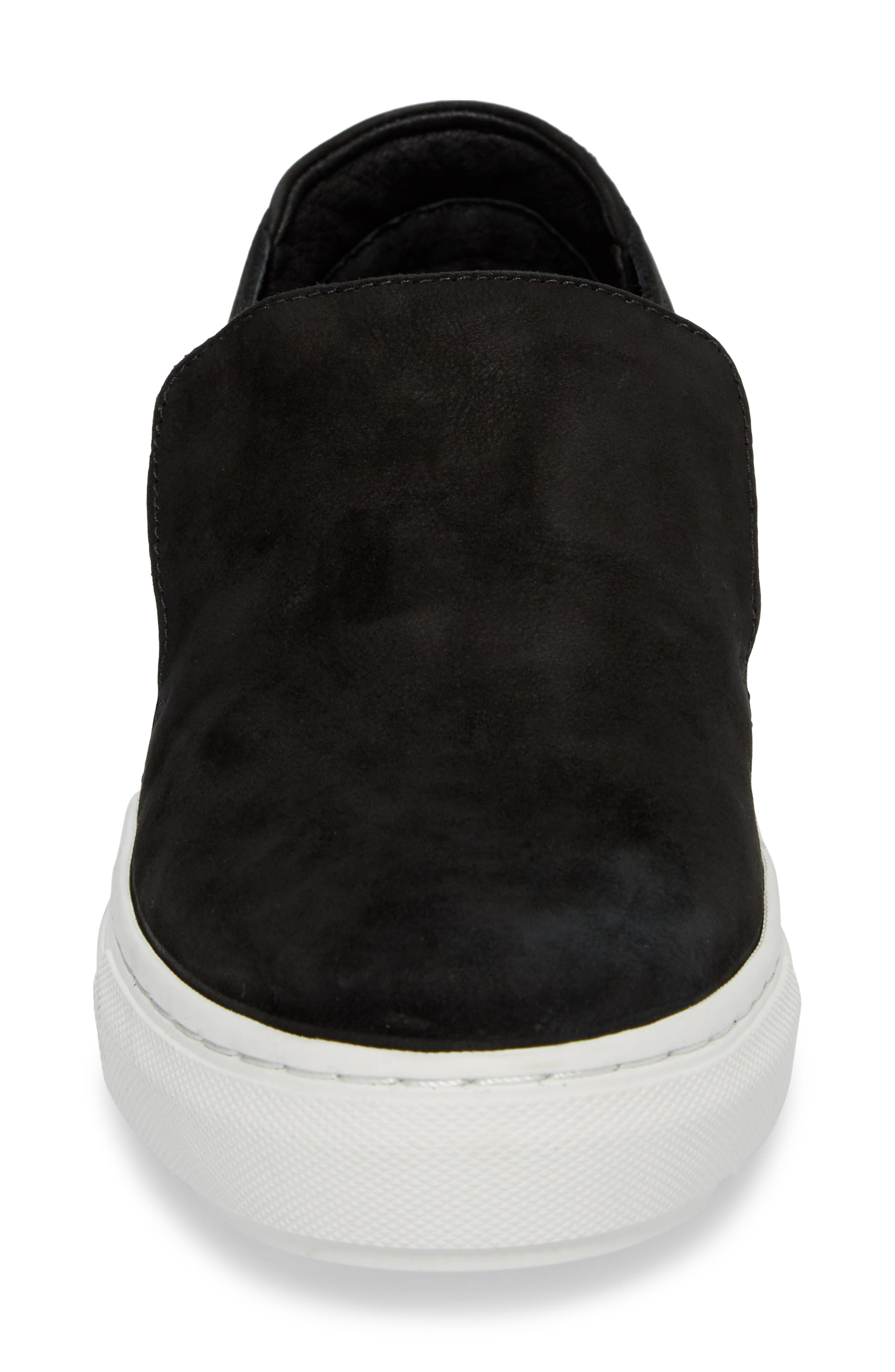 Perrie Platform Slip-On,                             Alternate thumbnail 4, color,                             001