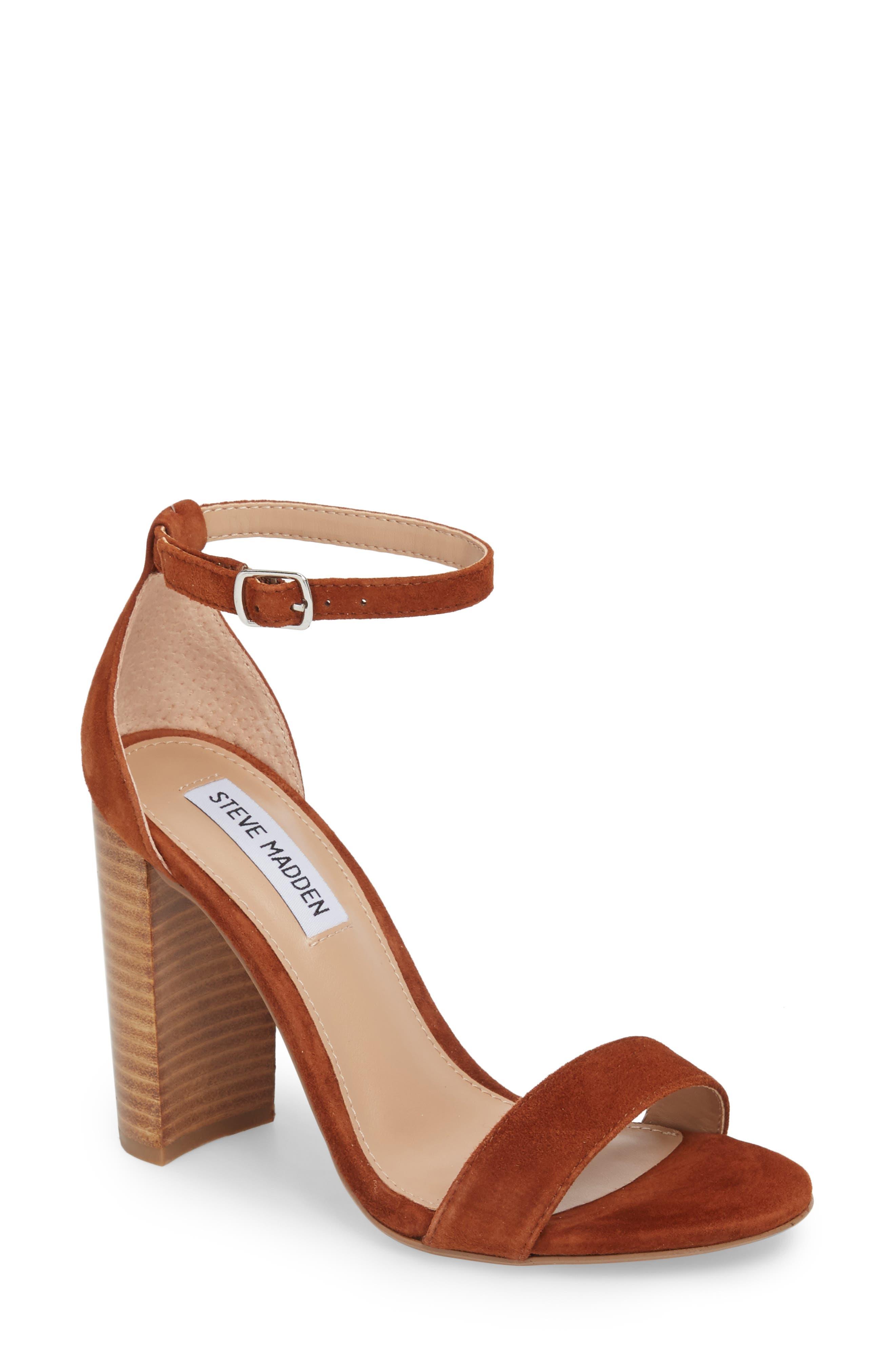 Carrson Sandal,                         Main,                         color, CHESTNUT MULTI