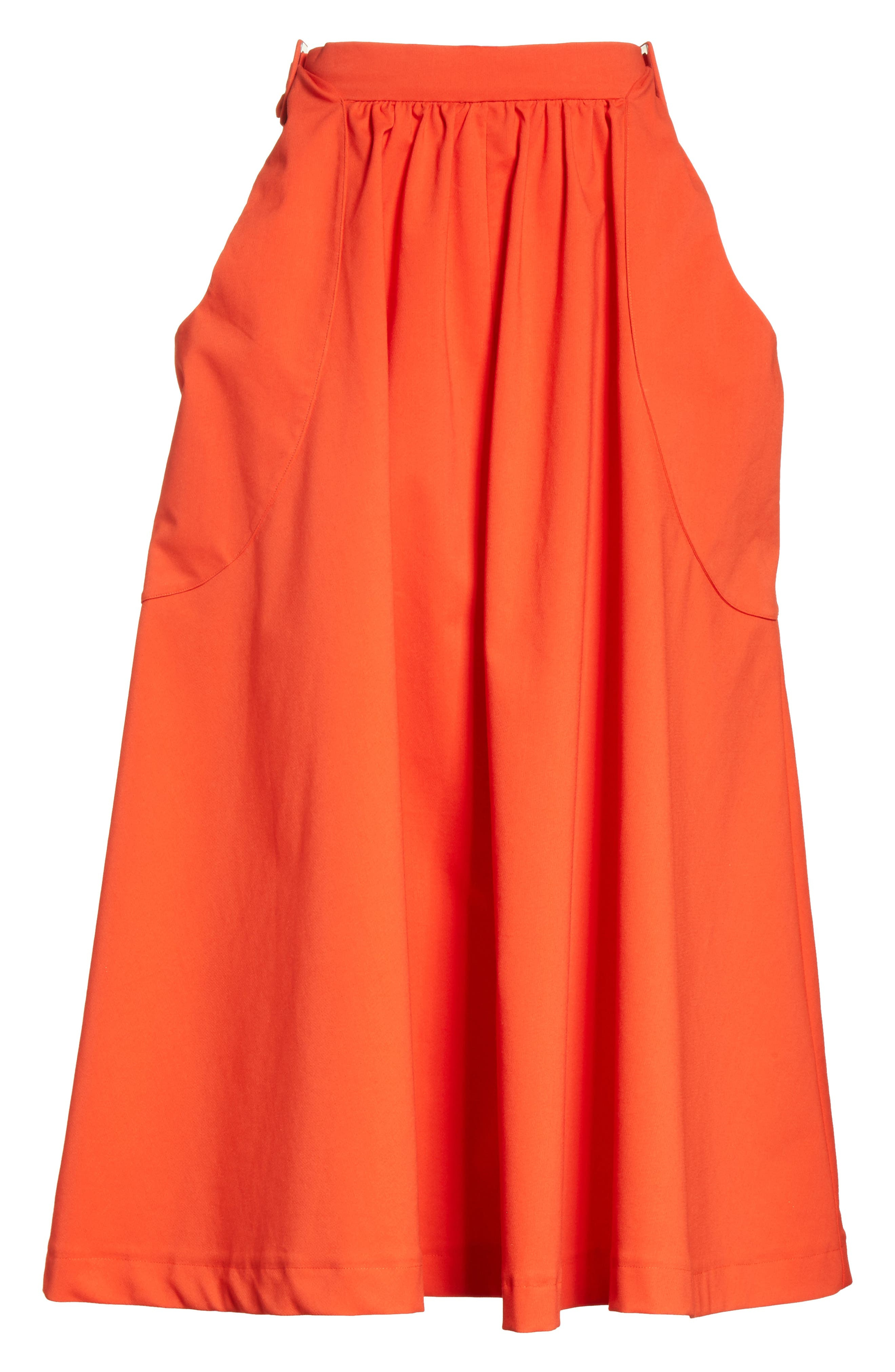 Belted Pocket Skirt,                             Alternate thumbnail 6, color,                             610