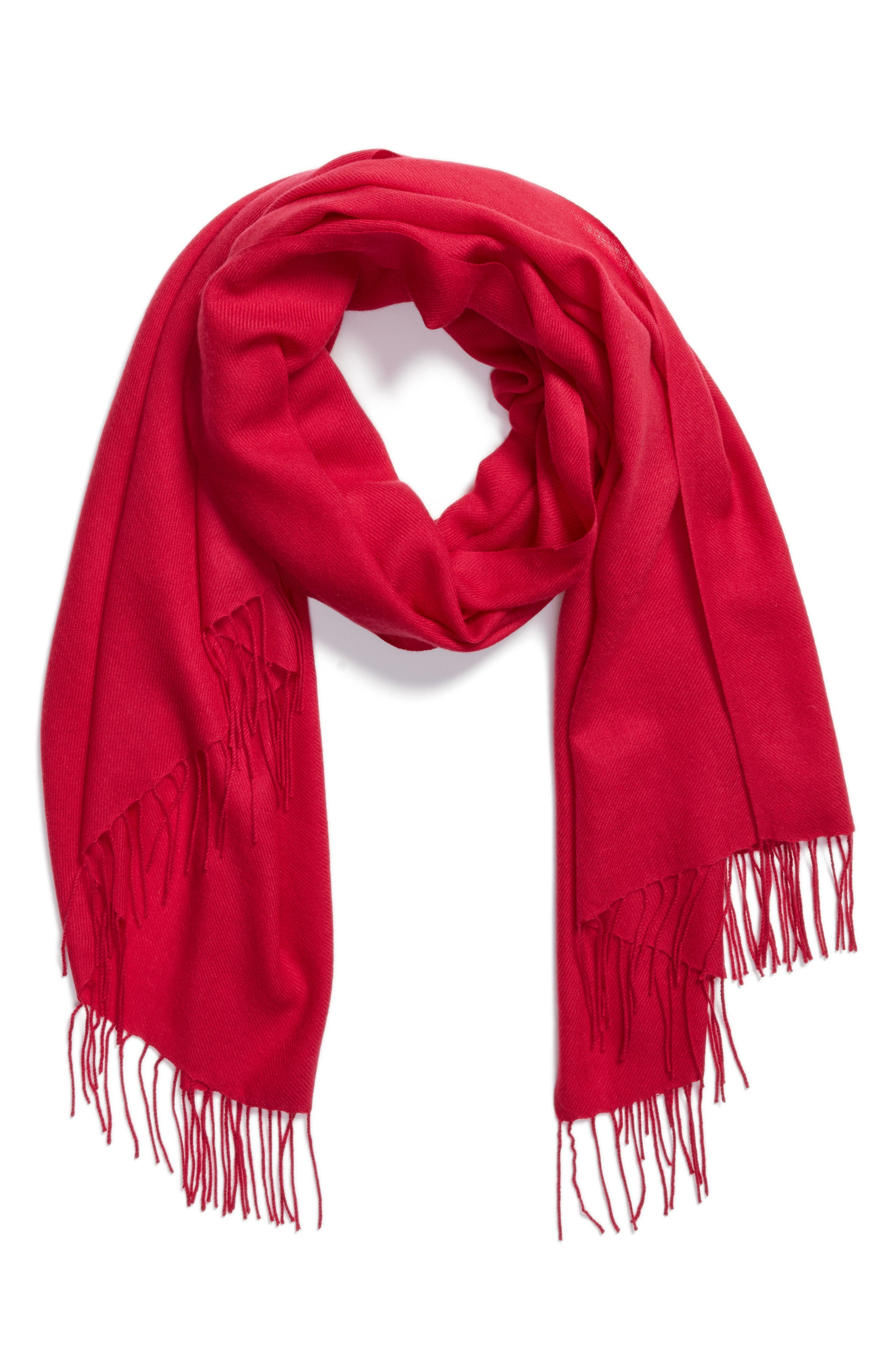 Tissue Weight Wool & Cashmere Scarf,                             Alternate thumbnail 129, color,