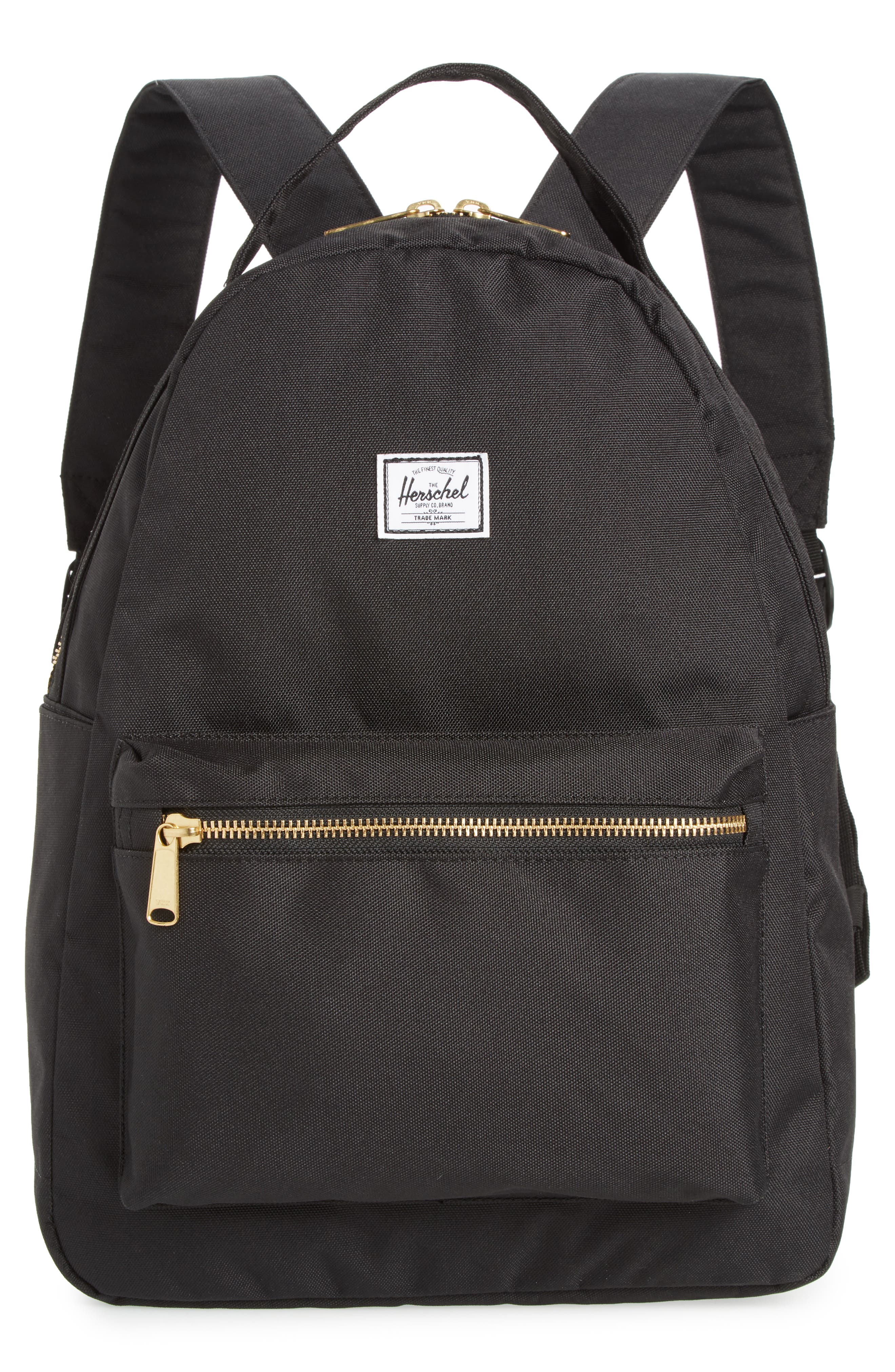 HERSCHEL SUPPLY CO. Nova Mid Volume Backpack, Main, color, BLACK