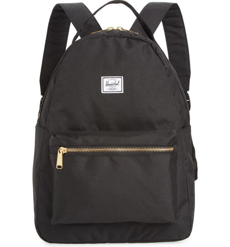 Herschel Supply Co. Nova Mid Volume Backpack - Black  9b9c75aafc3c8