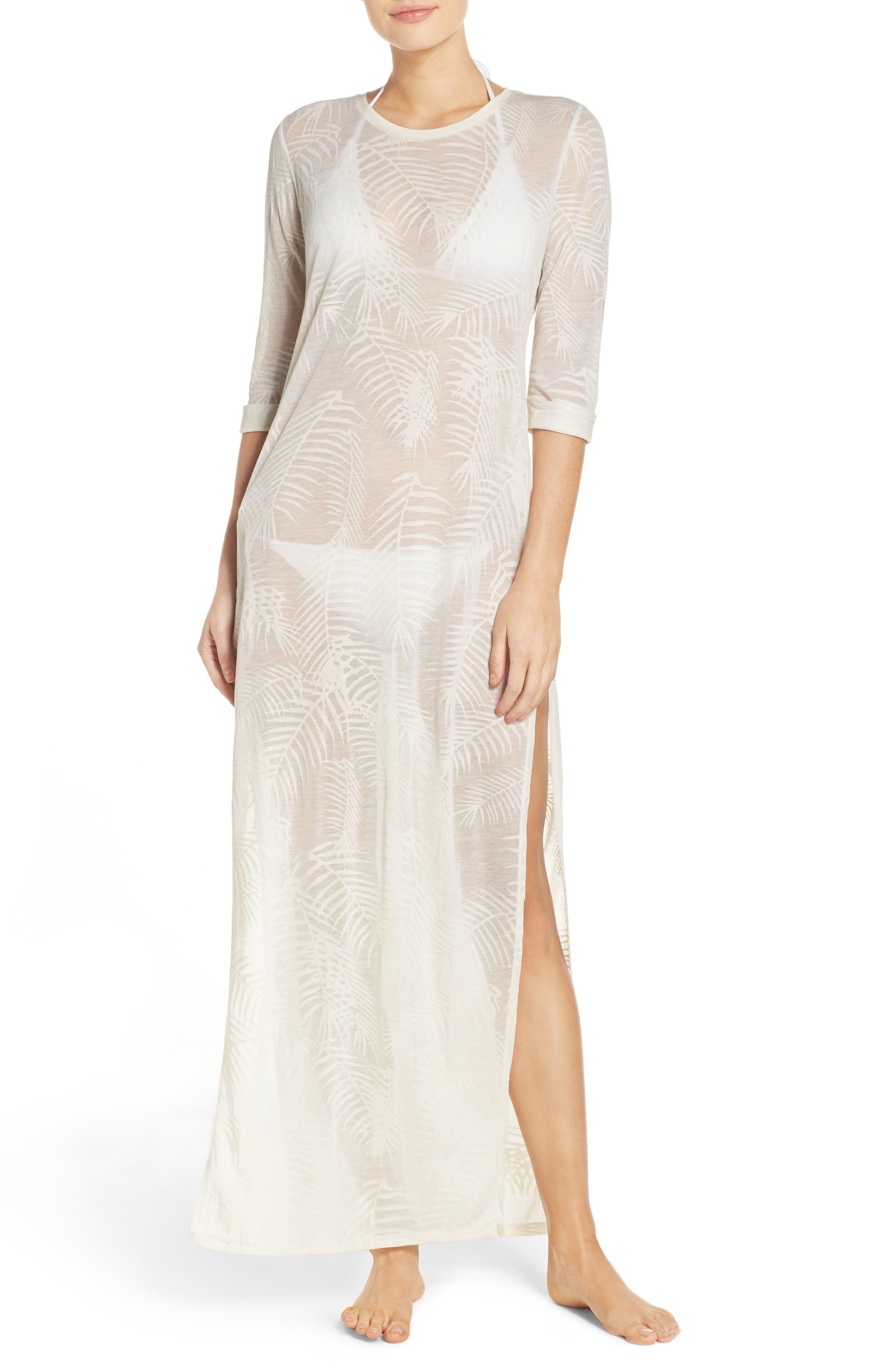 Finley Cover-Up Maxi Dress,                             Main thumbnail 1, color,                             100
