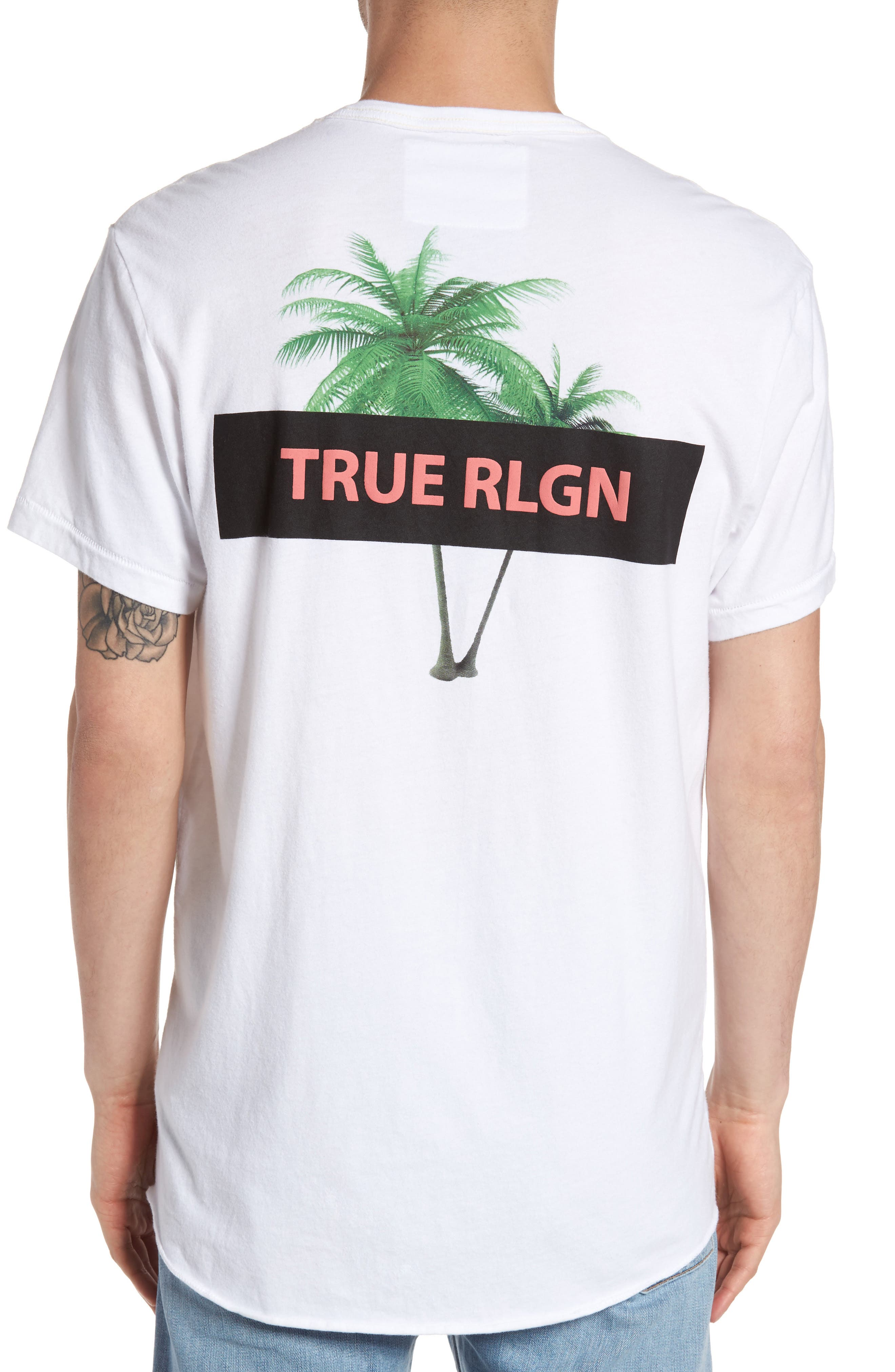 Twin Palms Graphic T-Shirt,                             Alternate thumbnail 2, color,