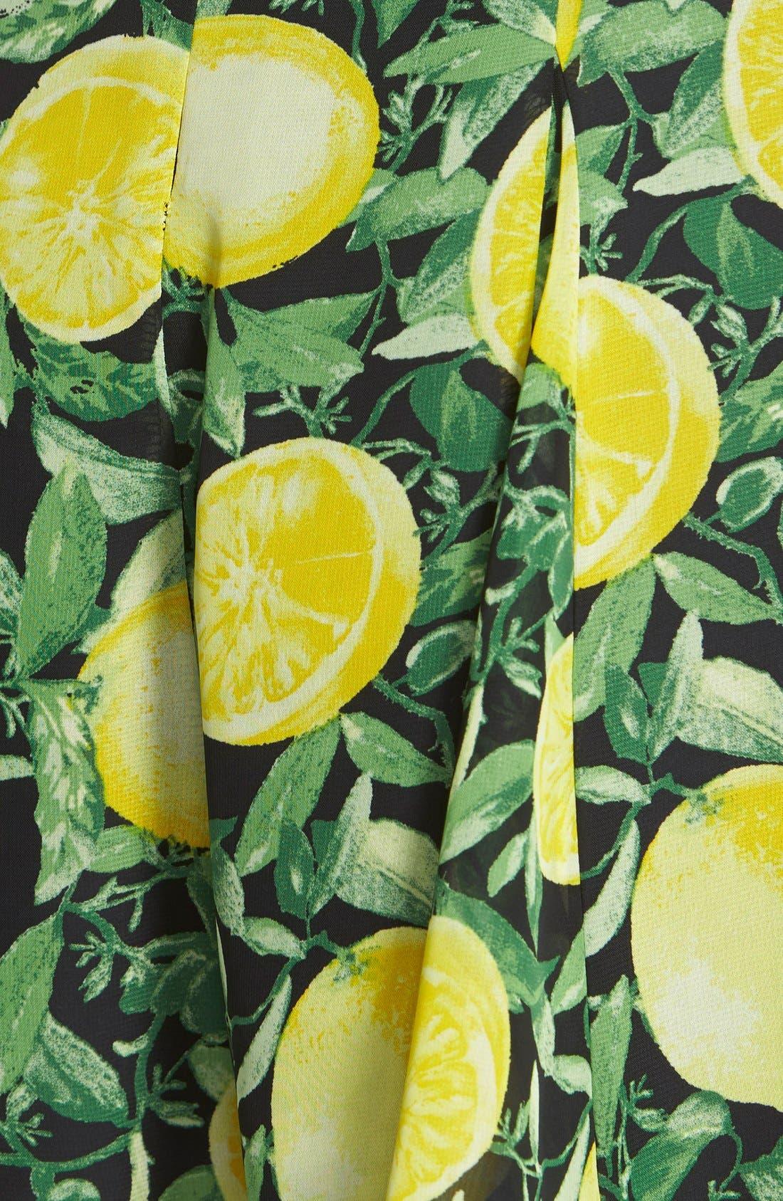 Strappy Lemon Romper,                             Alternate thumbnail 3, color,                             001