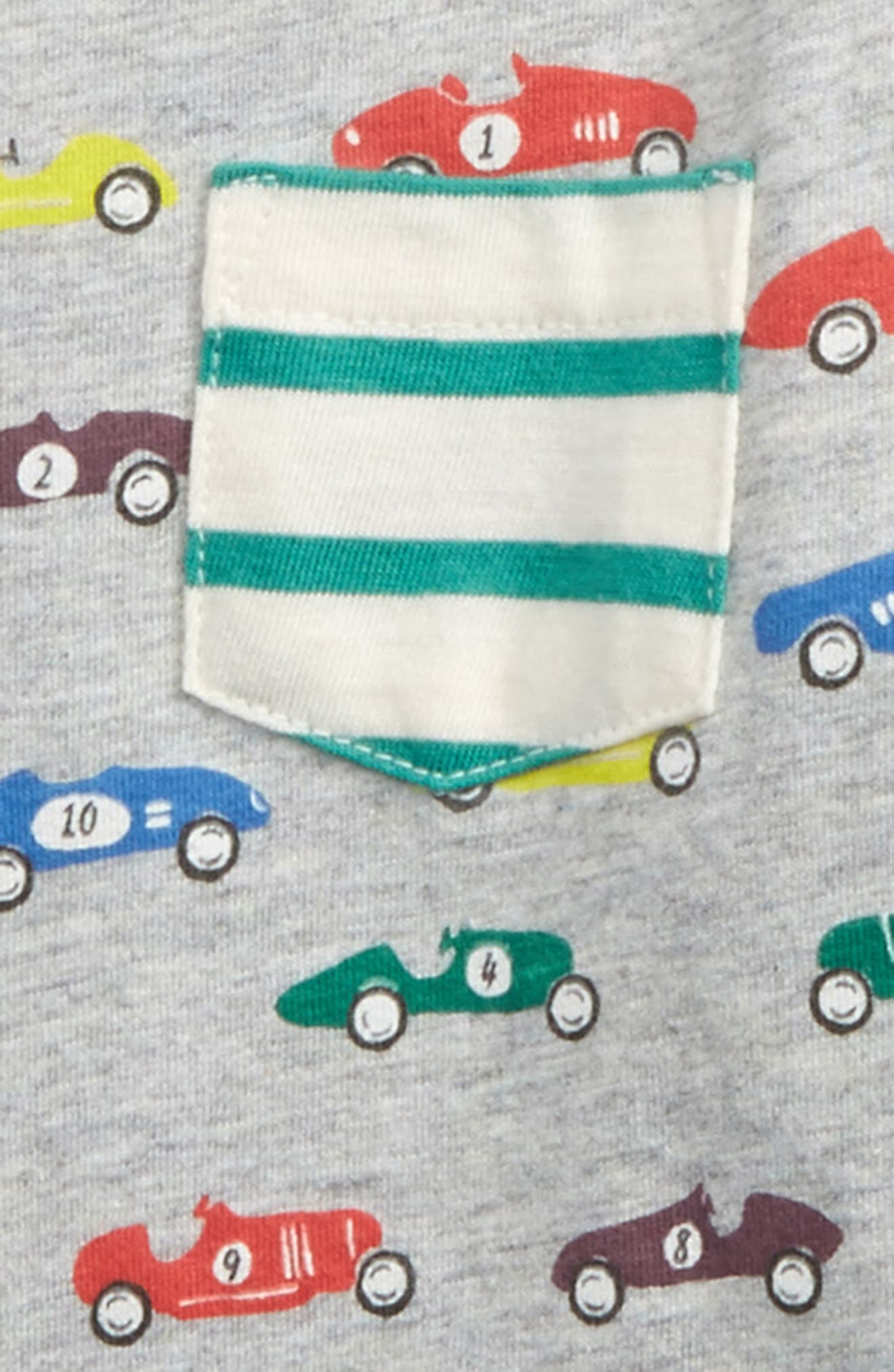 Reversible Print T-Shirt,                             Alternate thumbnail 3, color,                             020