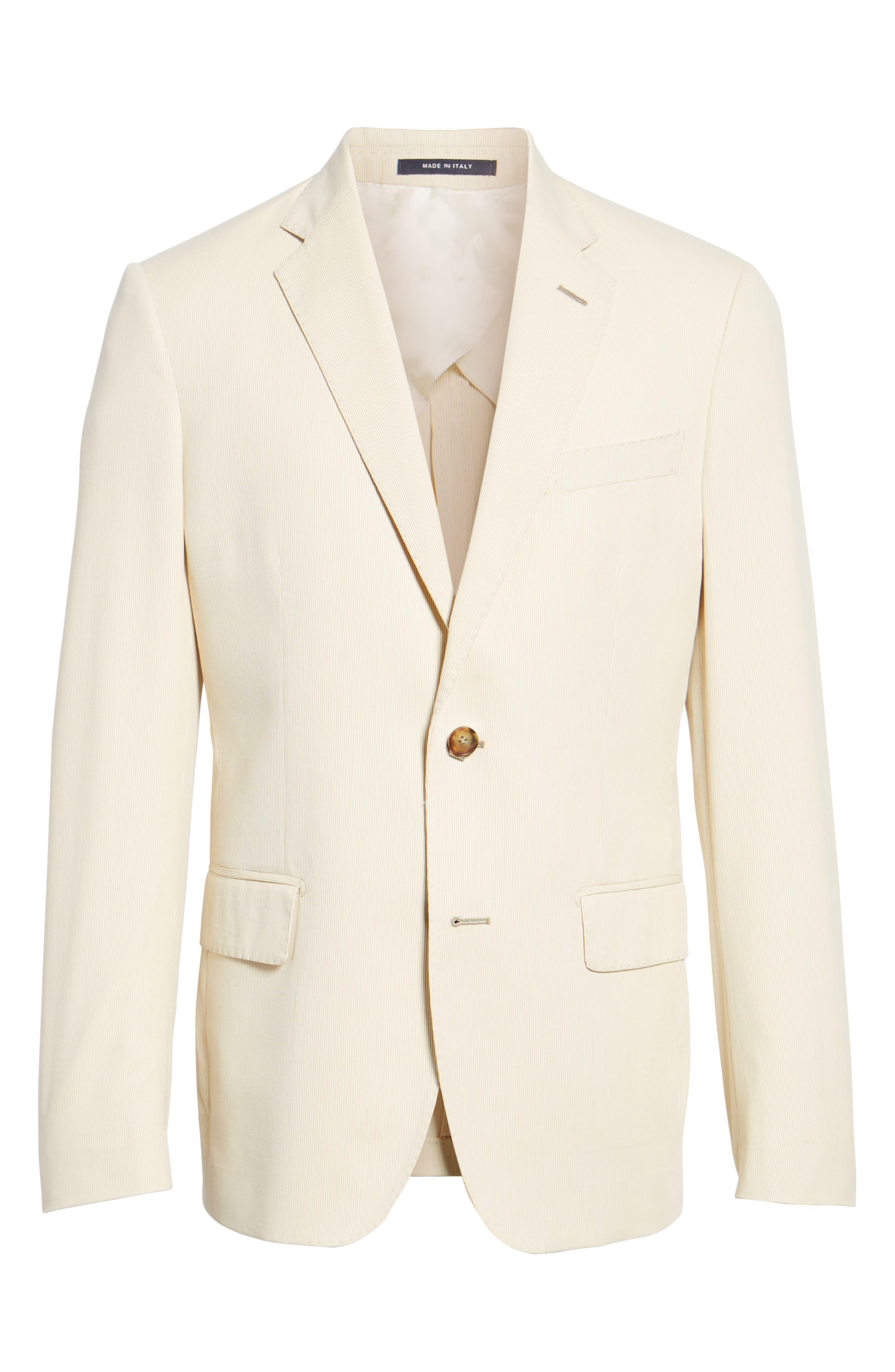 Classic Fit Stripe Sport Coat,                             Alternate thumbnail 5, color,                             270