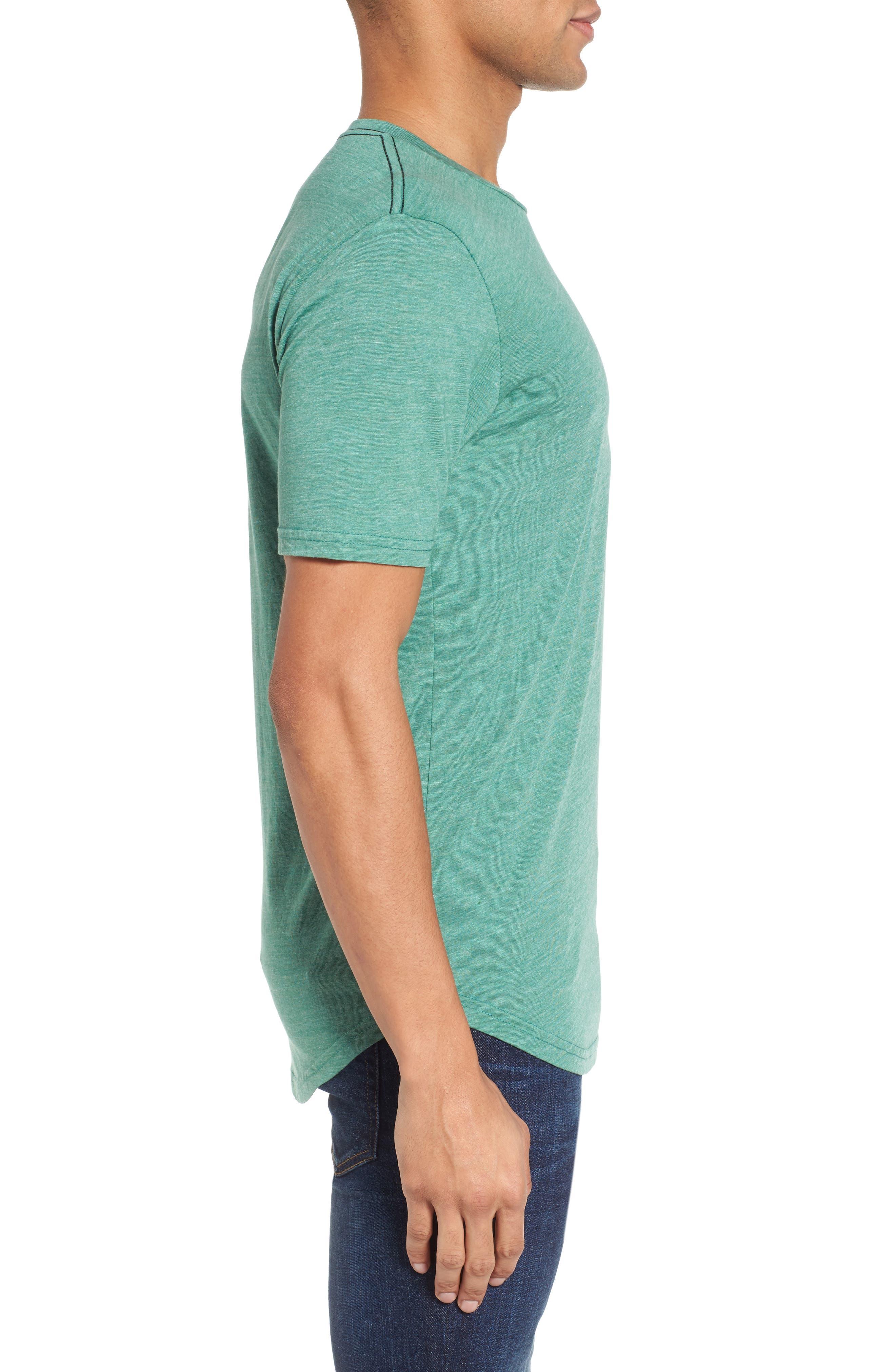 Scallop Triblend Crewneck T-Shirt,                             Alternate thumbnail 53, color,