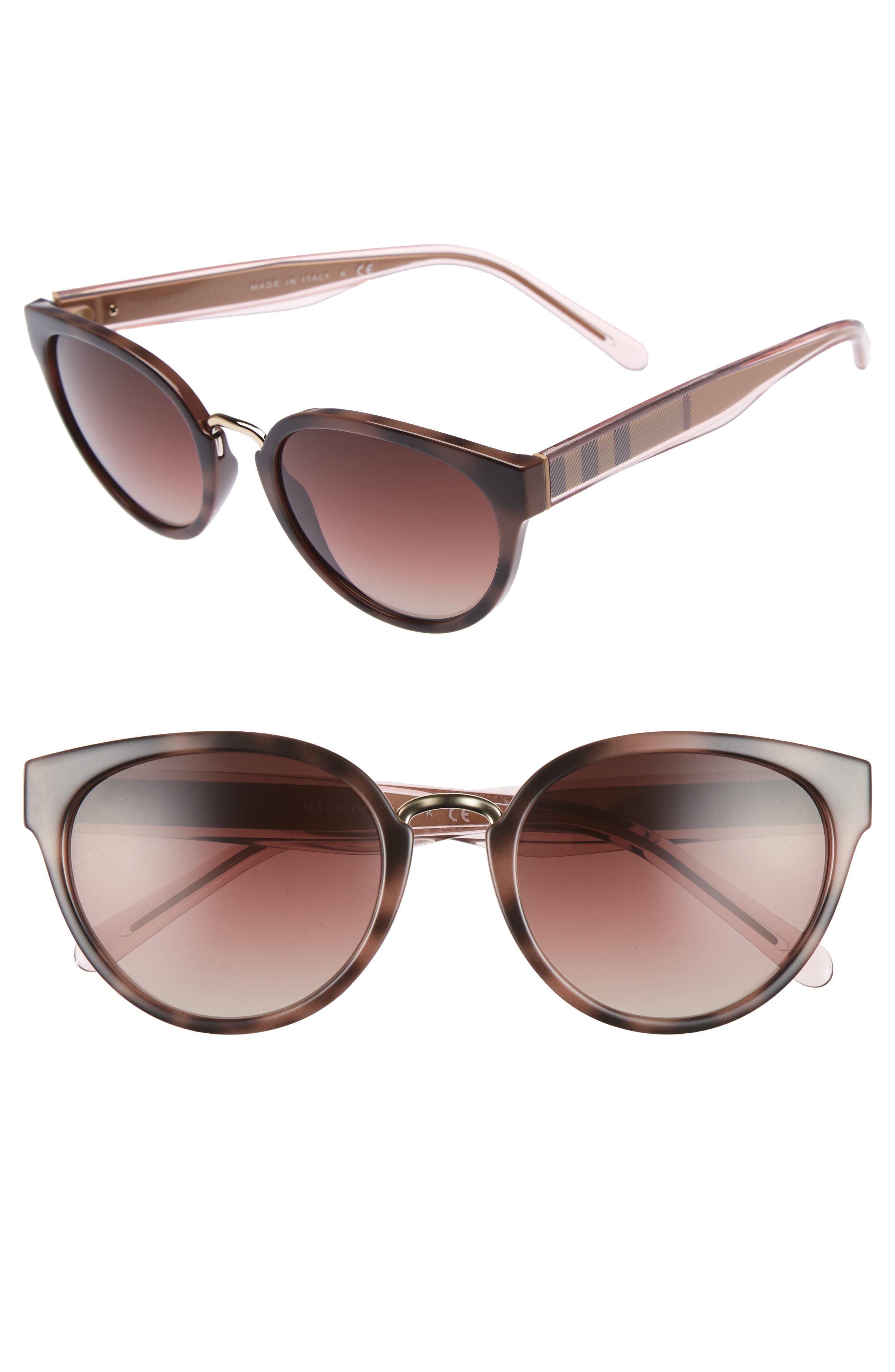53mm Gradient Cat Eye Sunglasses,                             Main thumbnail 3, color,