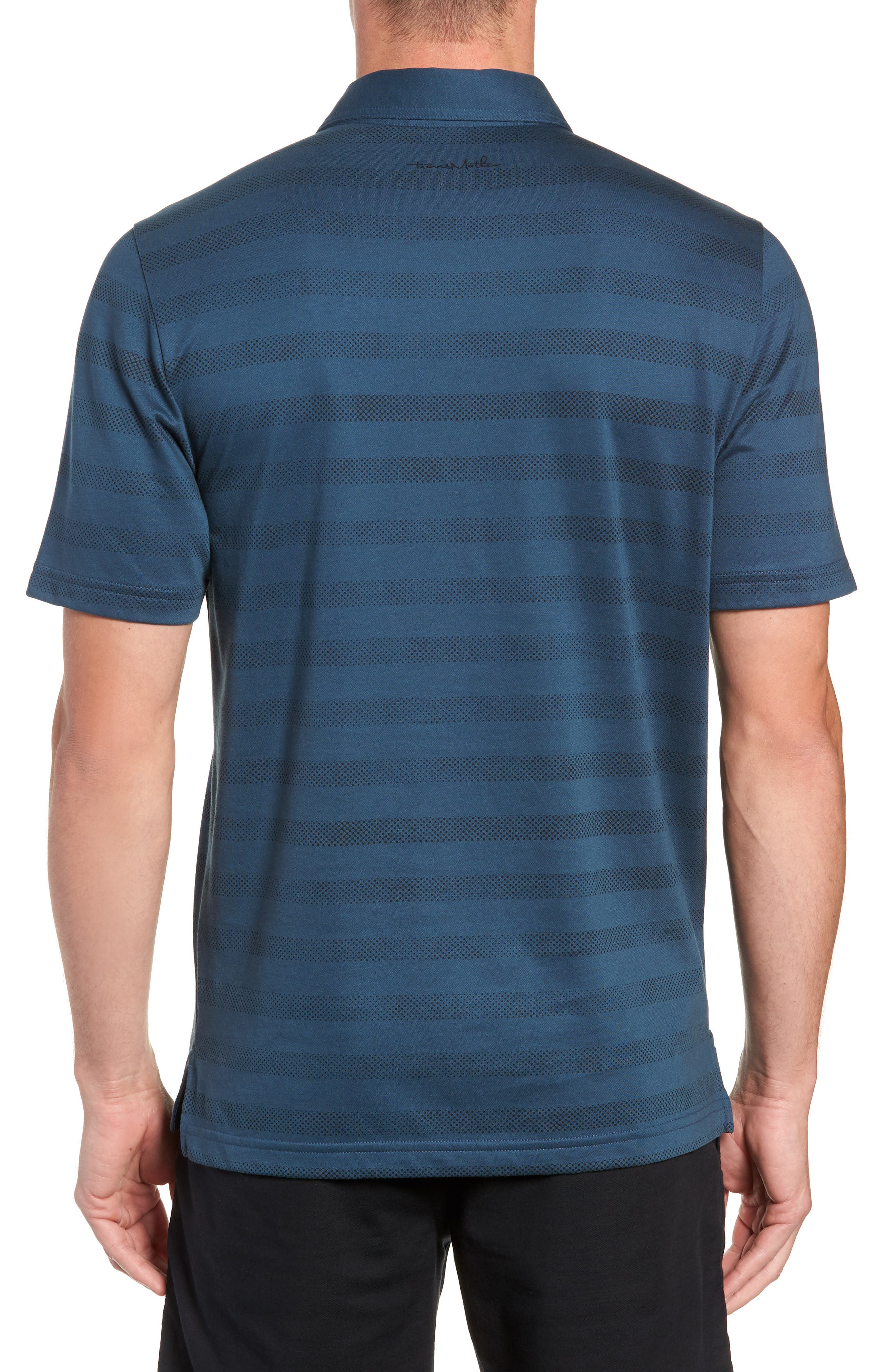 Dolphinantly Regular Fit Polo,                             Alternate thumbnail 2, color,                             BLUE WING TEAL