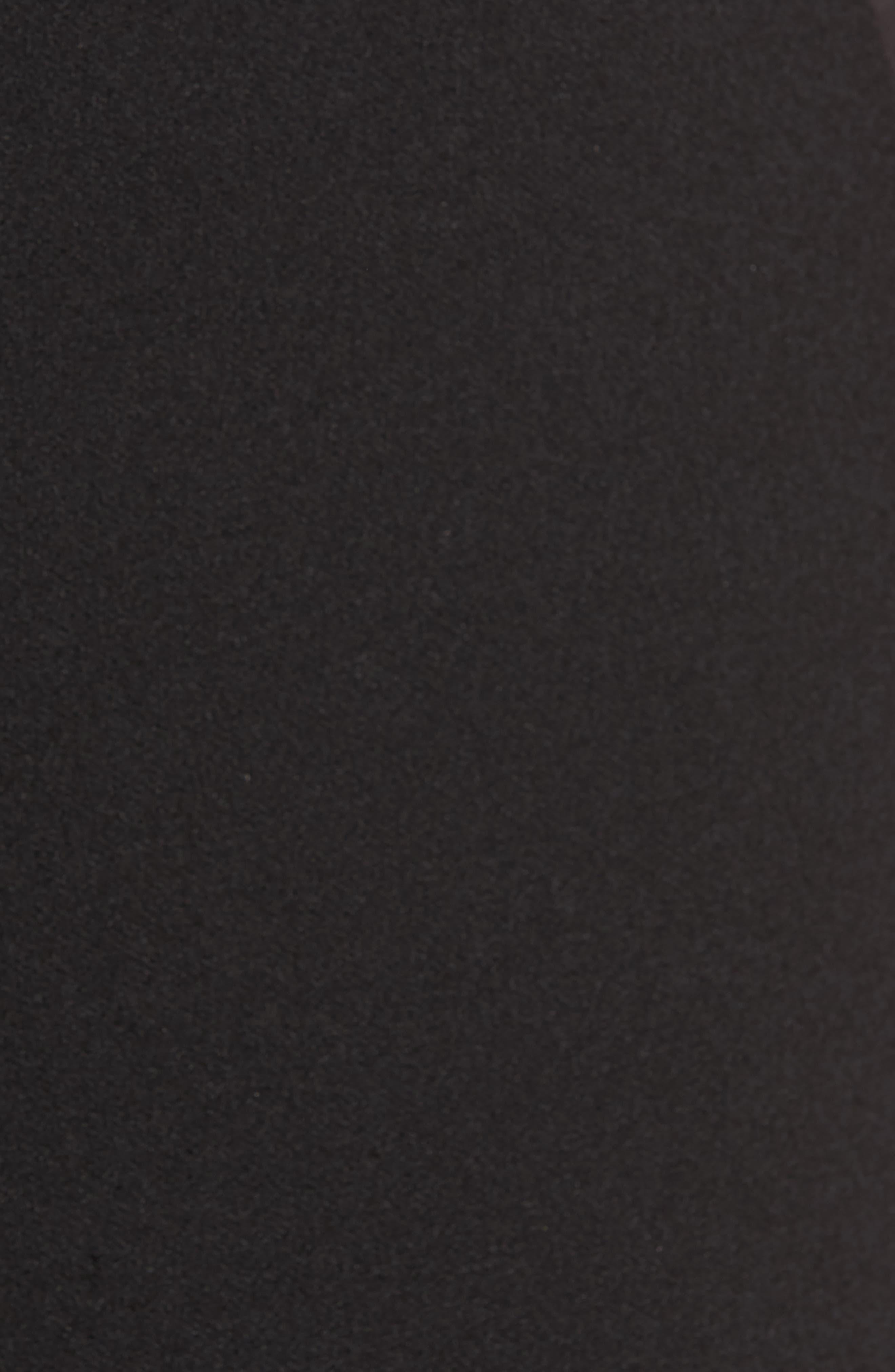 Lou Lou High Waist Crop Slim Trousers,                             Alternate thumbnail 5, color,                             001