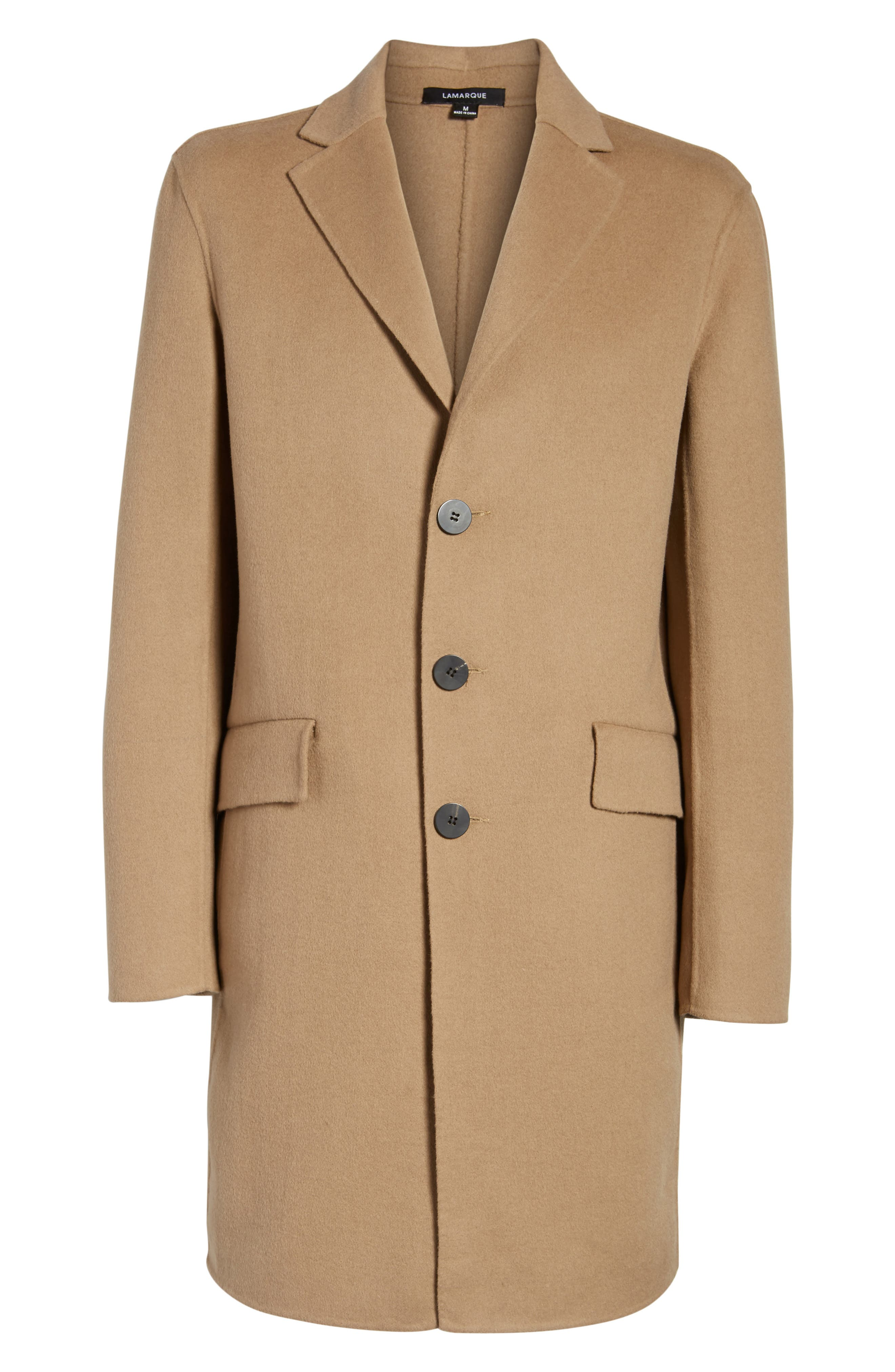 Wool Blend Topcoat,                             Alternate thumbnail 15, color,